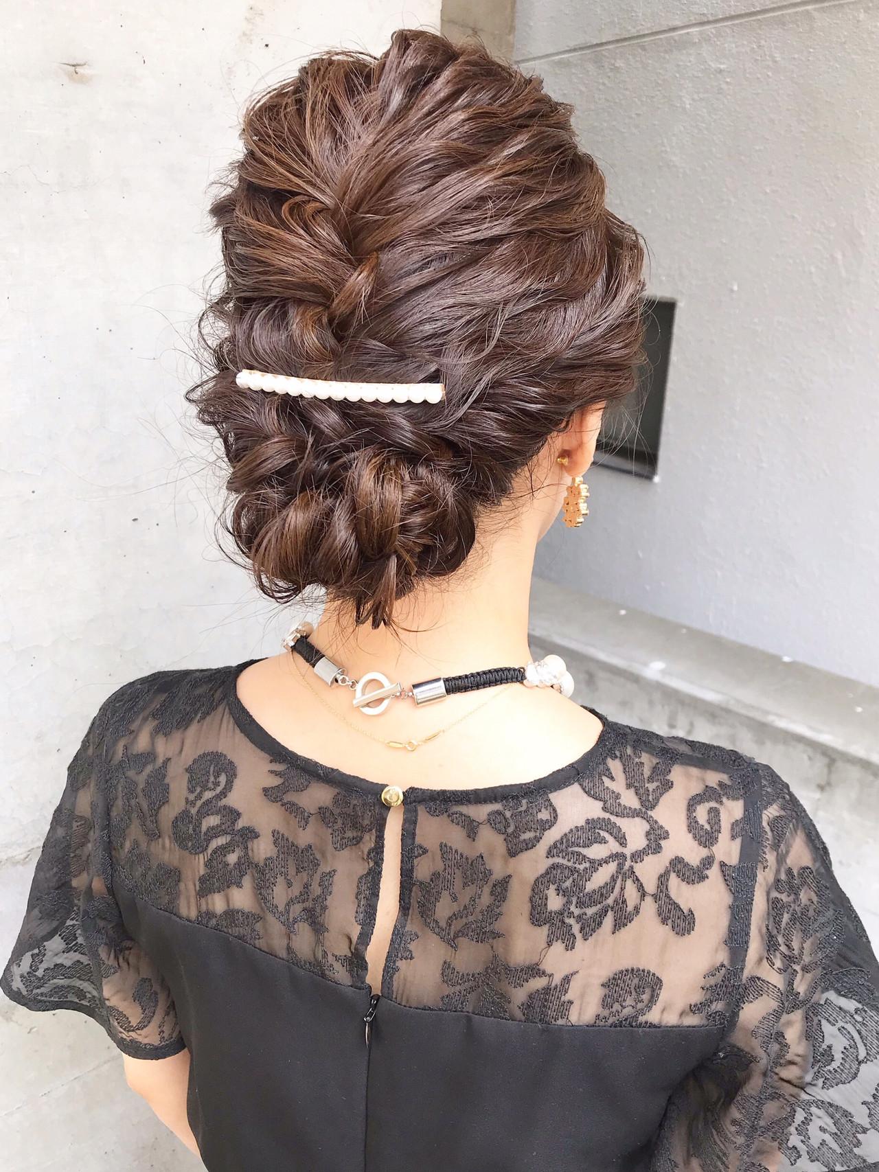 ナチュラル 結婚式ヘアアレンジ デート 結婚式髪型 ヘアスタイルや髪型の写真・画像