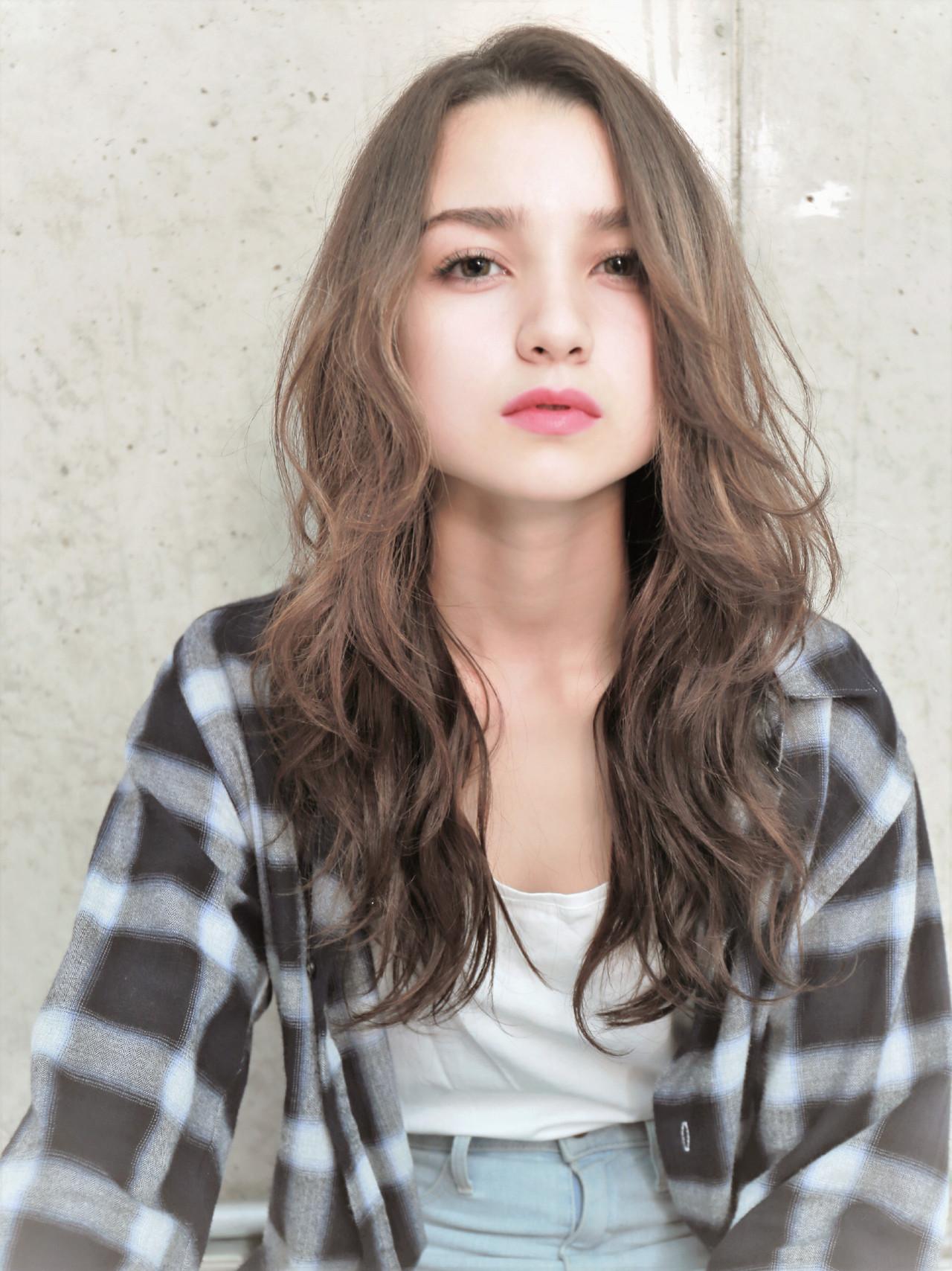 モテ髪 秋 ゆるふわ 透明感 ヘアスタイルや髪型の写真・画像