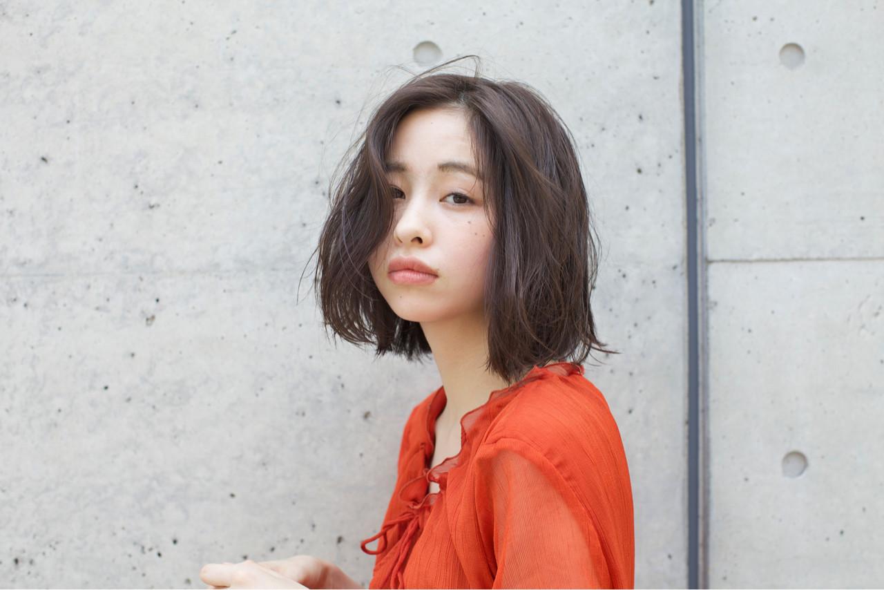 ボブ ゆるふわ 外国人風 外国人風カラー ヘアスタイルや髪型の写真・画像 | 佐脇 正徳 / LOAVE AOYAMA(ローヴ アオヤマ)