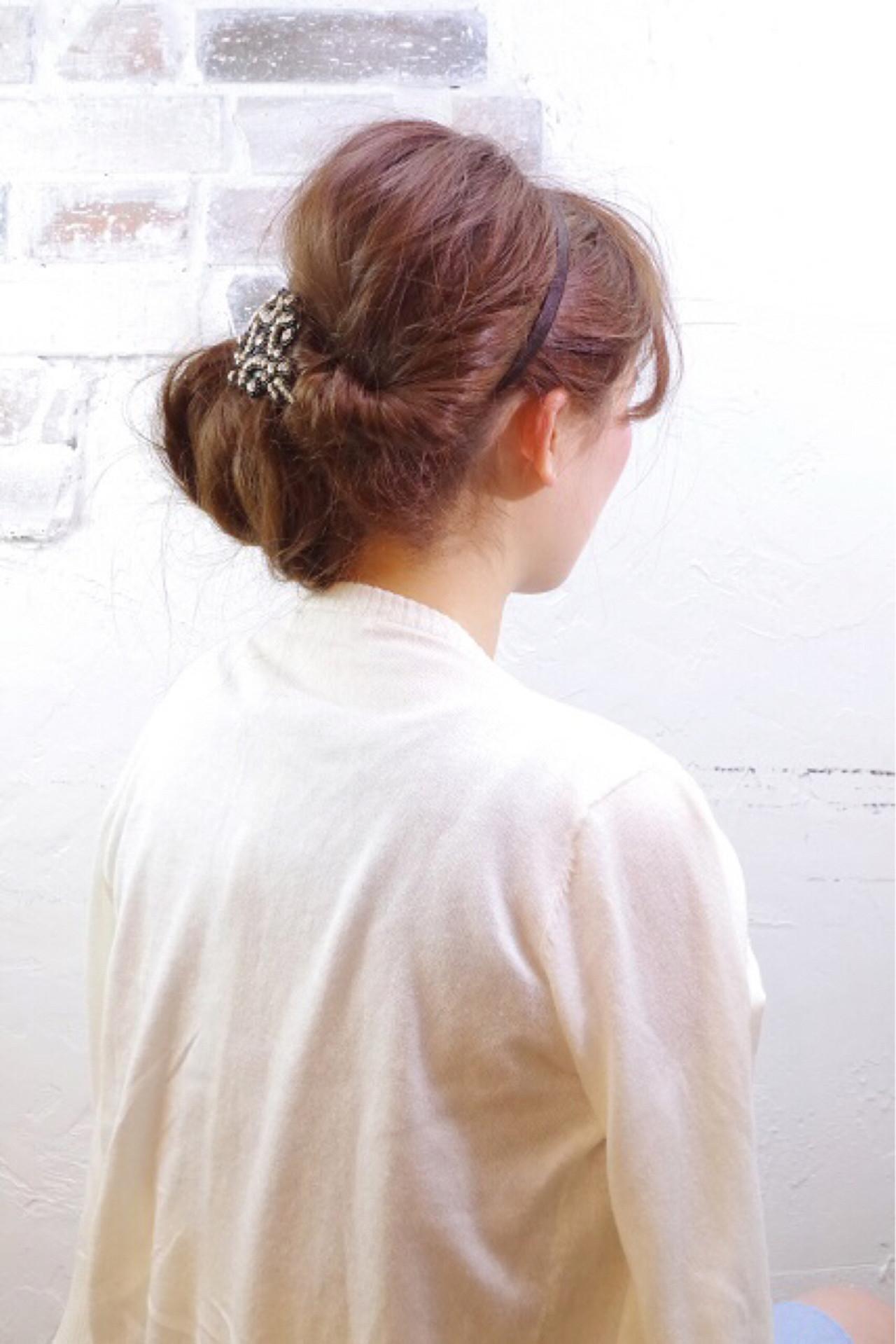 夏 簡単ヘアアレンジ ロング ショート ヘアスタイルや髪型の写真・画像