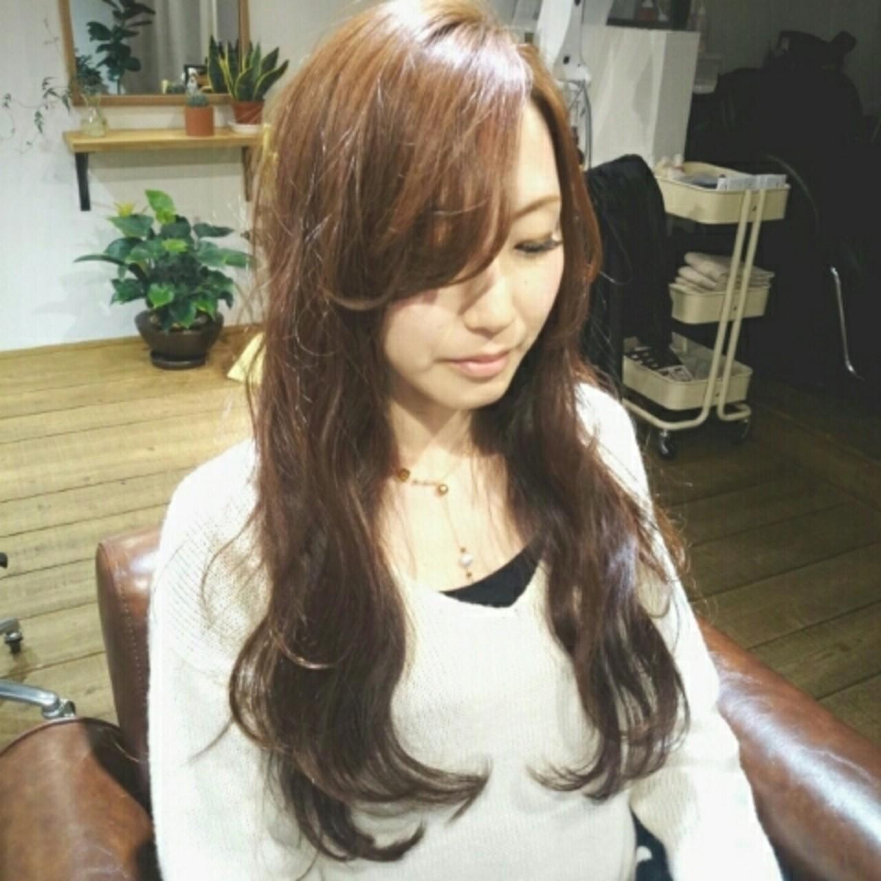 大人かわいい コンサバ 波ウェーブ フェミニン ヘアスタイルや髪型の写真・画像