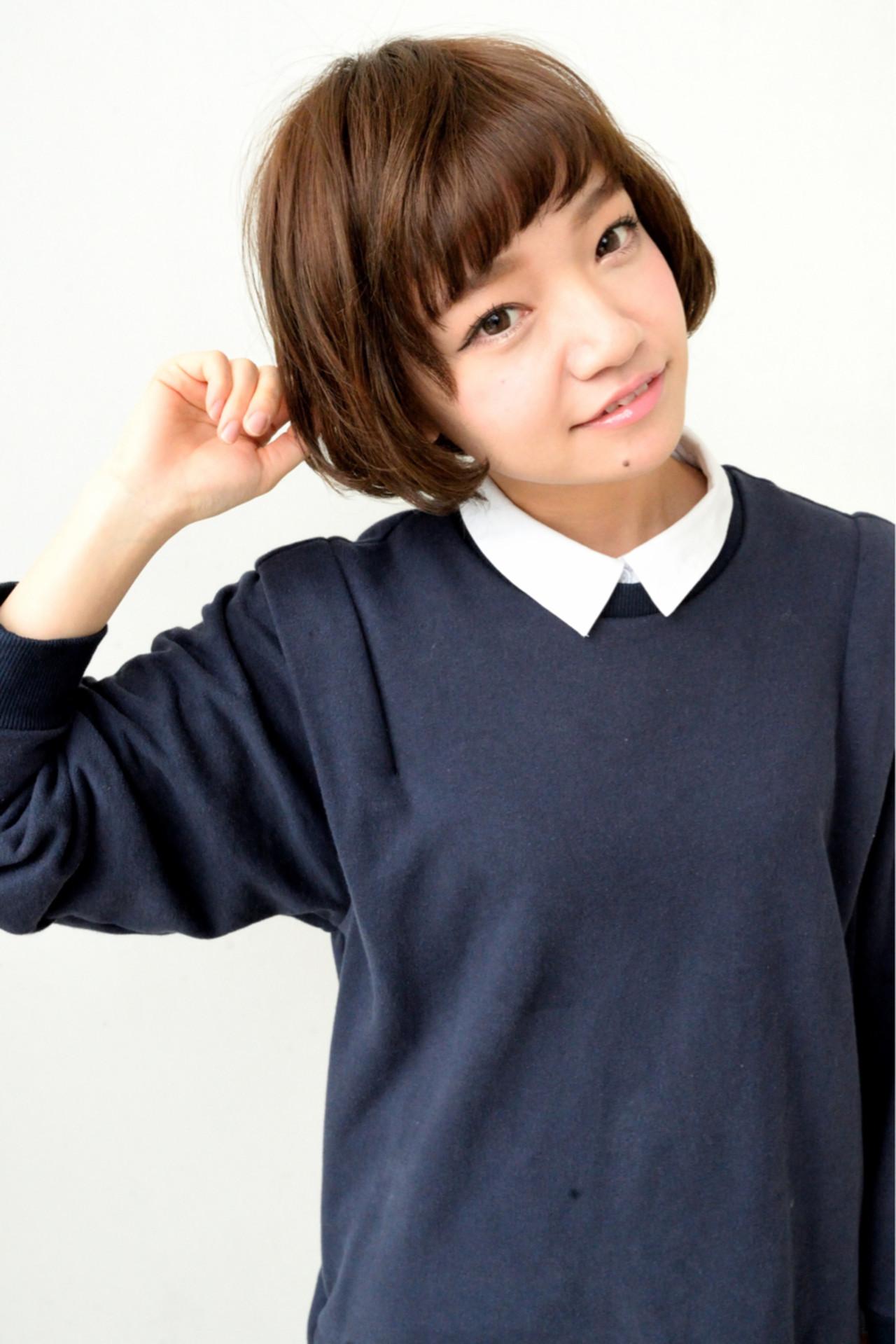 大人かわいい ナチュラル 前髪あり フェミニン ヘアスタイルや髪型の写真・画像