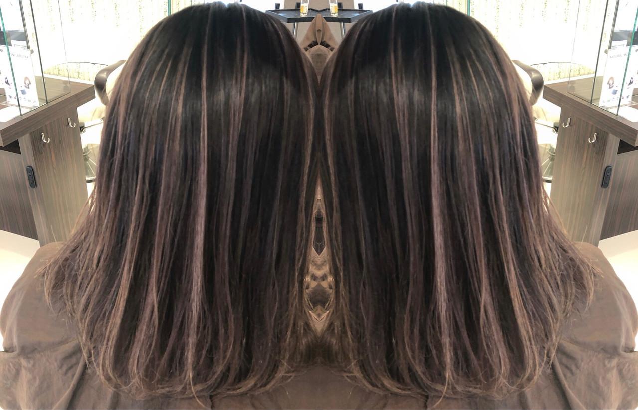 デート ストリート 外国人風 ミディアム ヘアスタイルや髪型の写真・画像 | アンドウ ユウ / agu hair edge