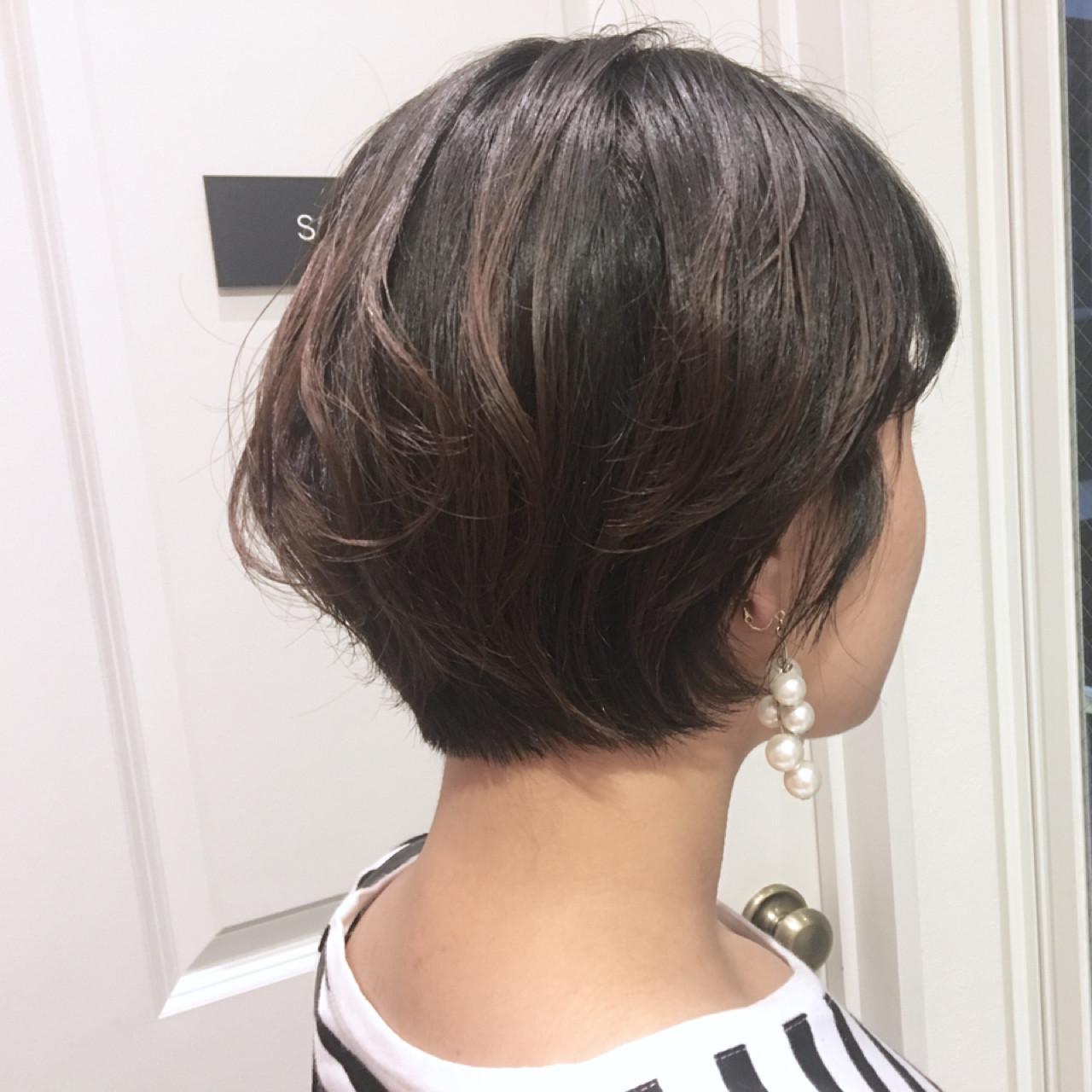 ナチュラル ショート 無造作 ヘアアレンジ ヘアスタイルや髪型の写真・画像 | MIURA / Kona大名
