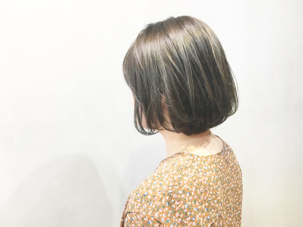 ミントアッシュ ブルージュ ハンサムショート ナチュラル ヘアスタイルや髪型の写真・画像