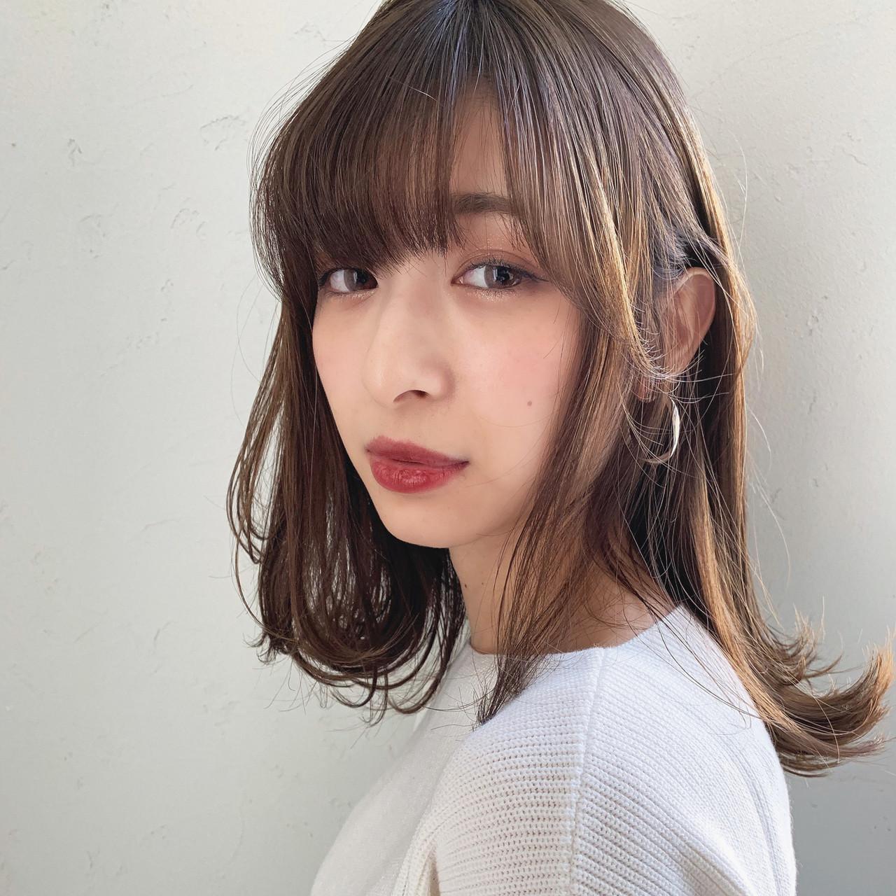 アンニュイほつれヘア デート フェミニン オフィス ヘアスタイルや髪型の写真・画像