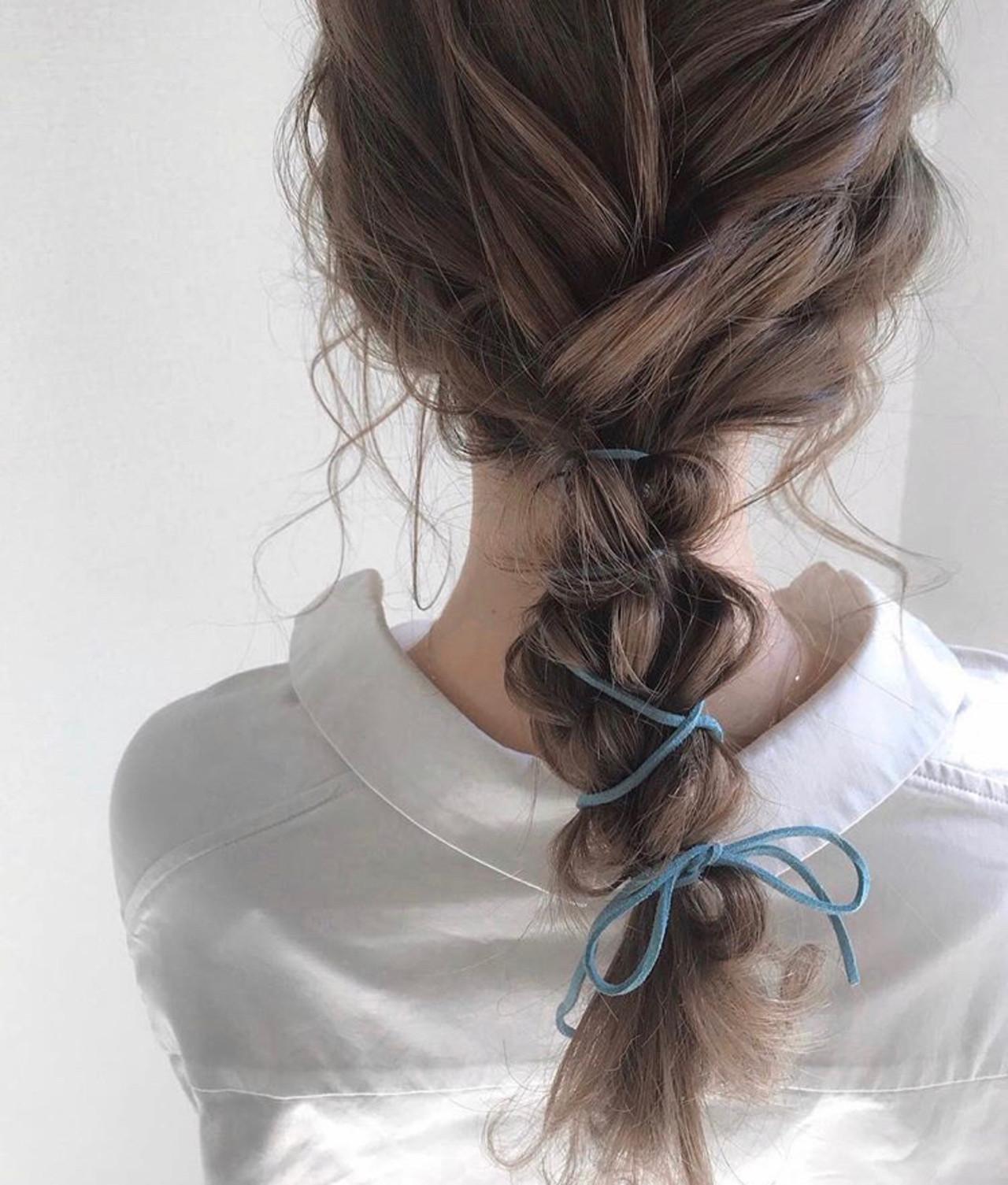 ヘアアレンジ ナチュラル アウトドア デート ヘアスタイルや髪型の写真・画像 | 三木 奨太 / hair set salon  IRIS