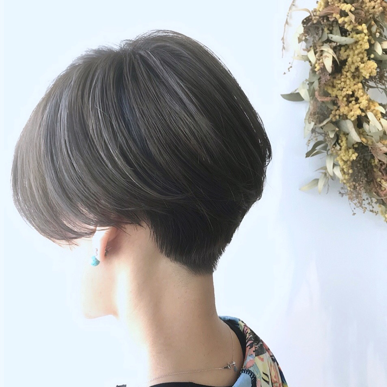 ショート ヘアアレンジ デート スポーツ ヘアスタイルや髪型の写真・画像 | 戸井田真幸 / cercle
