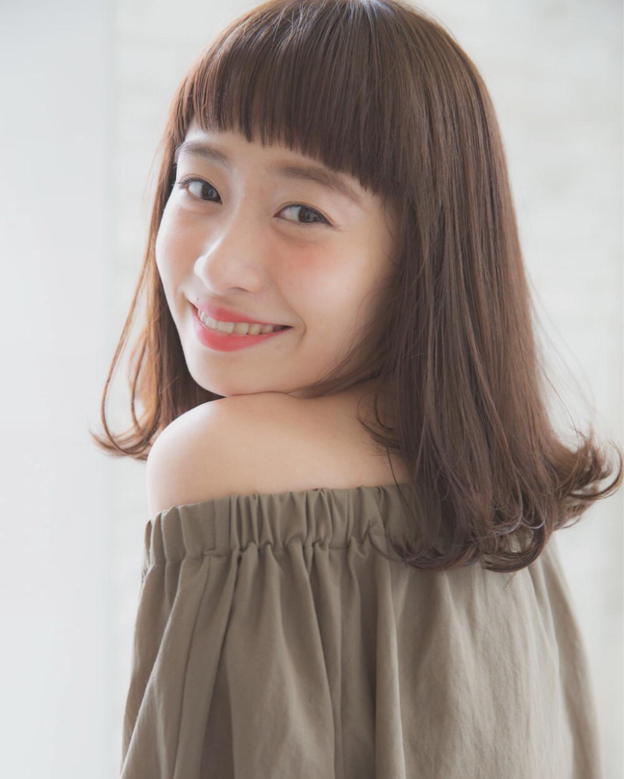ボブ 小顔 こなれ感 大人女子 ヘアスタイルや髪型の写真・画像 | joemi by unami 森千里 / joemi by unami 新宿