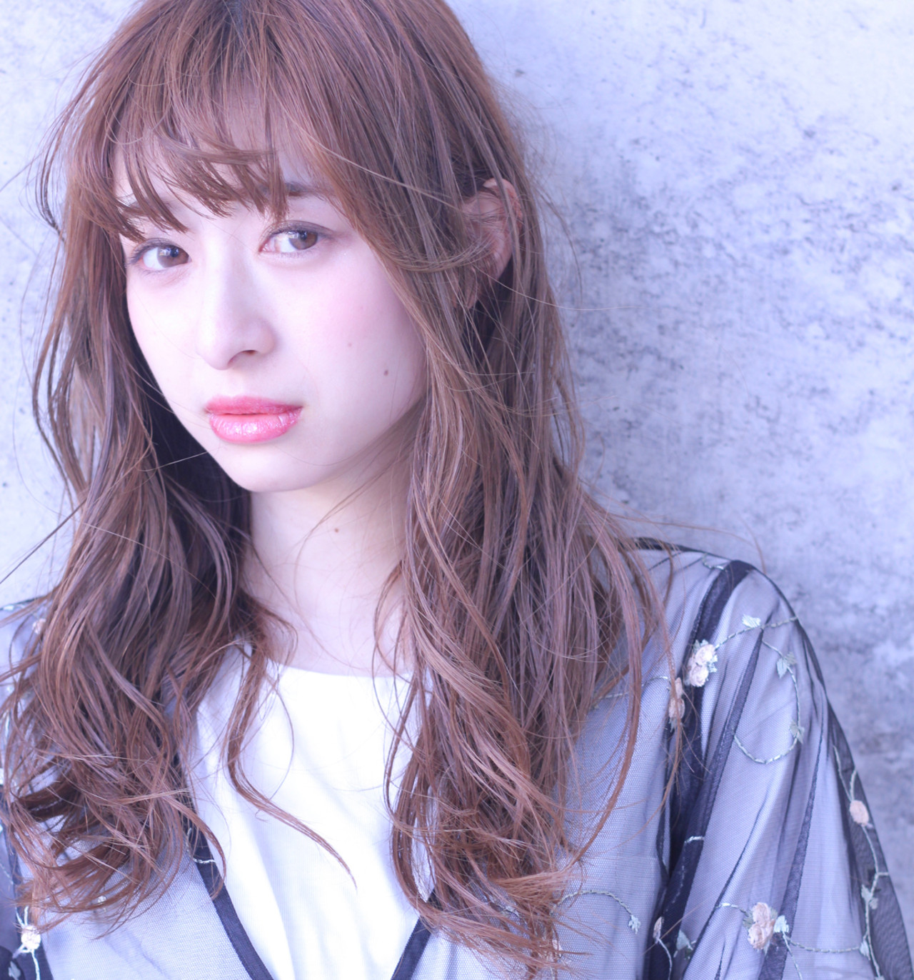 透明感 カール フェミニン ロング ヘアスタイルや髪型の写真・画像 | Wataru Maeda / cache cache
