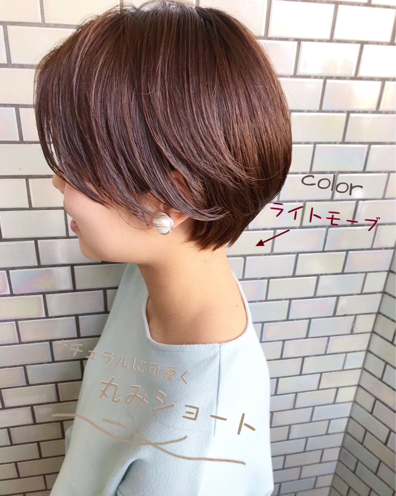 デート ベリーショート 大人かわいい ショートボブ ヘアスタイルや髪型の写真・画像