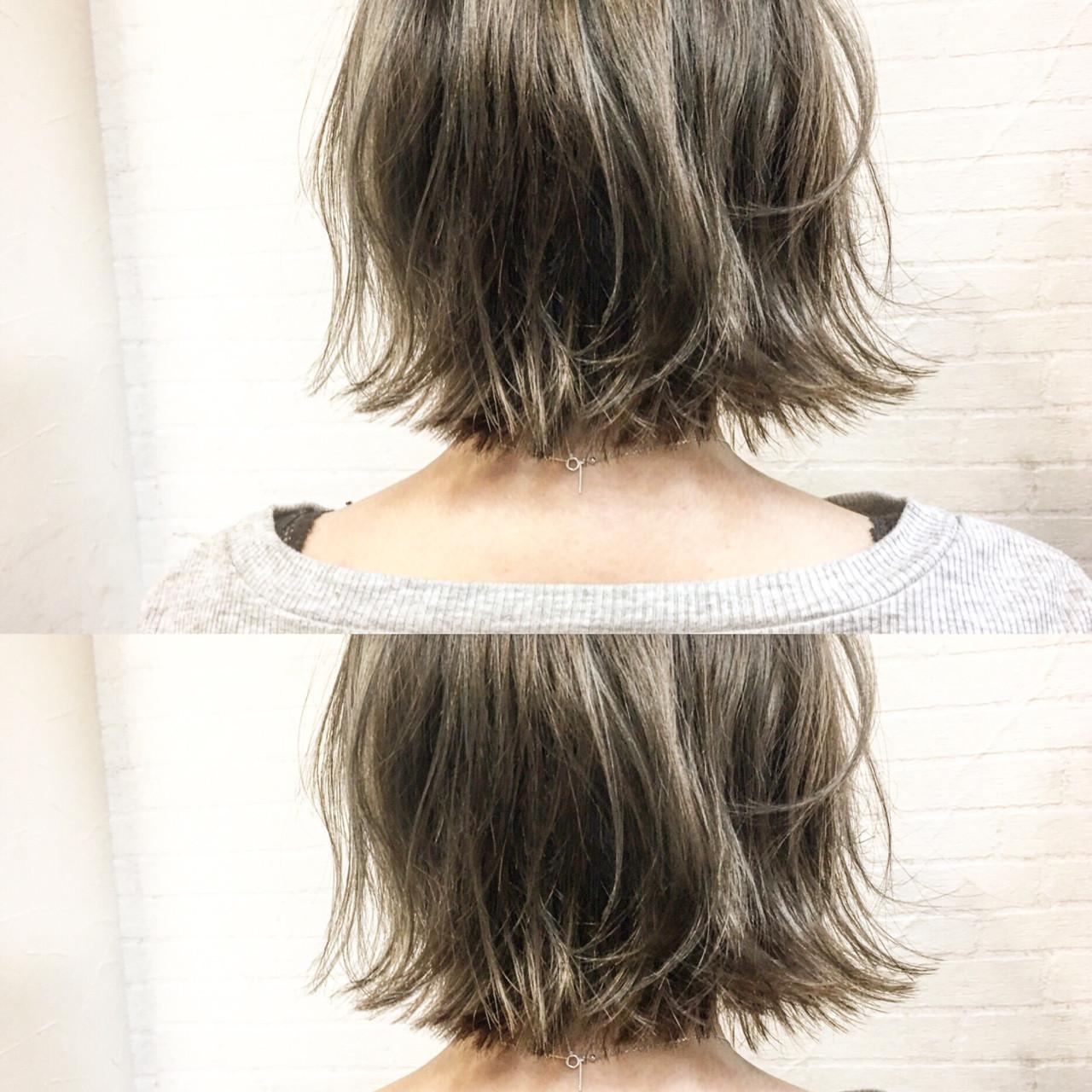 こなれ感 色気 ボブ 切りっぱなし ヘアスタイルや髪型の写真・画像 | 廣長 毅 / Lull/ vampdiva