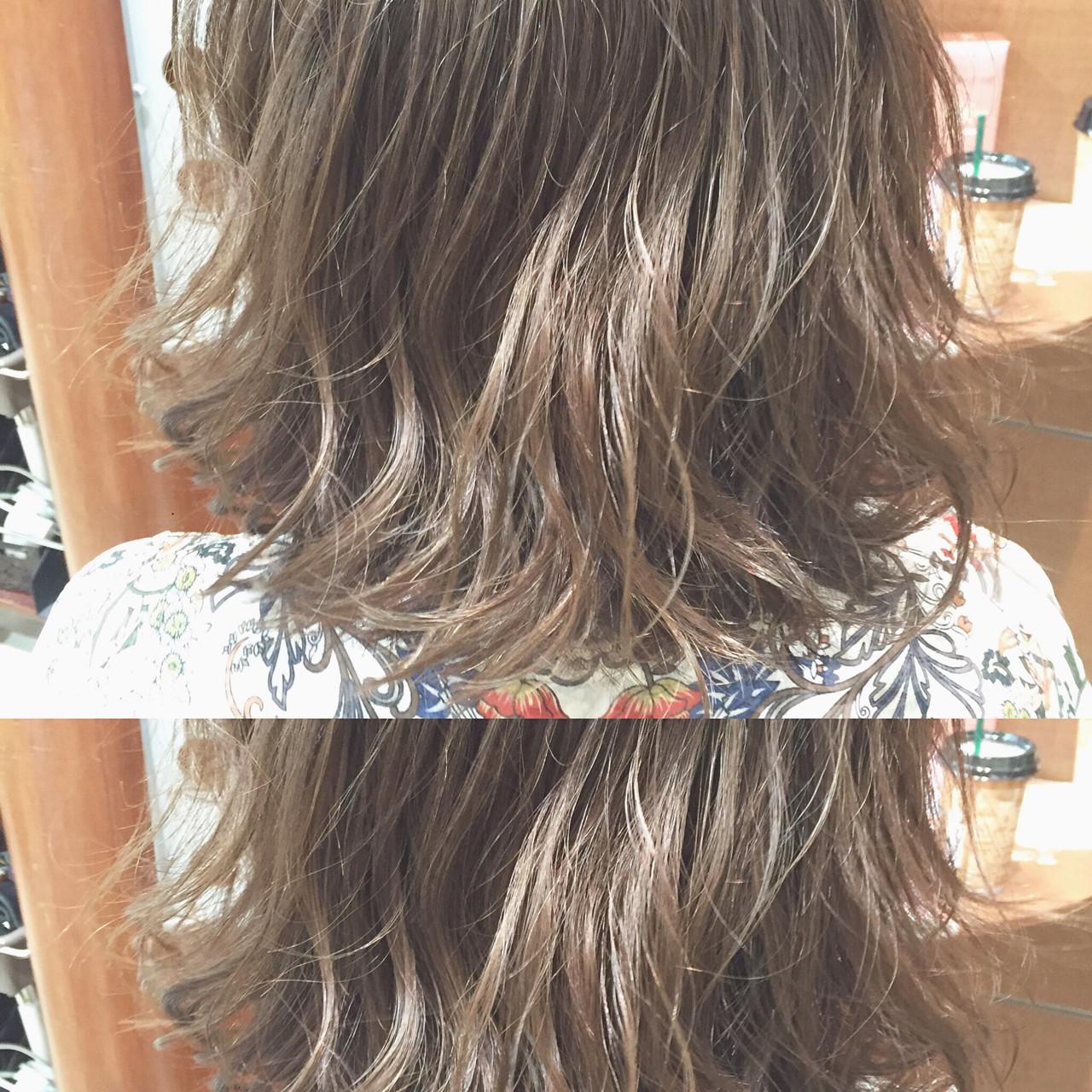 ハイライト ピュア ボブ 外国人風 ヘアスタイルや髪型の写真・画像