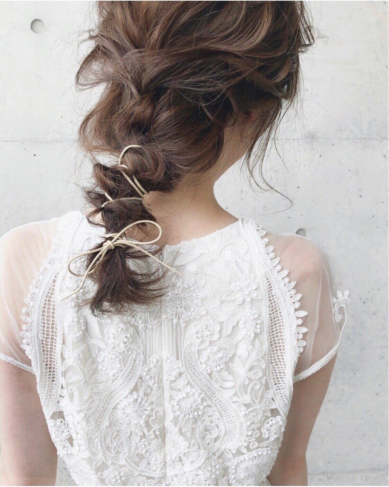 アンニュイ 大人女子 ゆるふわ ヘアアレンジ ヘアスタイルや髪型の写真・画像