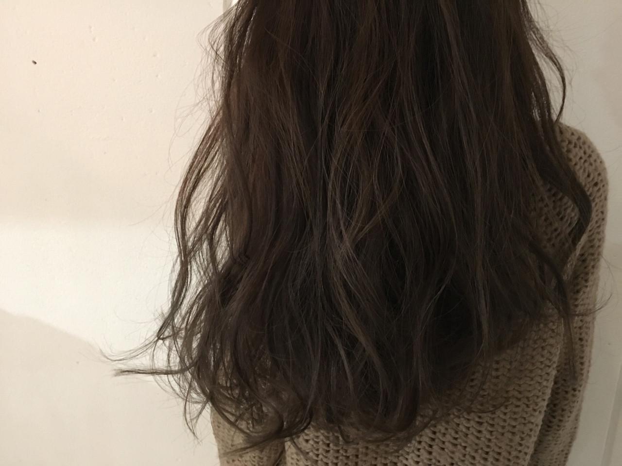 セミロング ナチュラル グラデーションカラー 外国人風 ヘアスタイルや髪型の写真・画像
