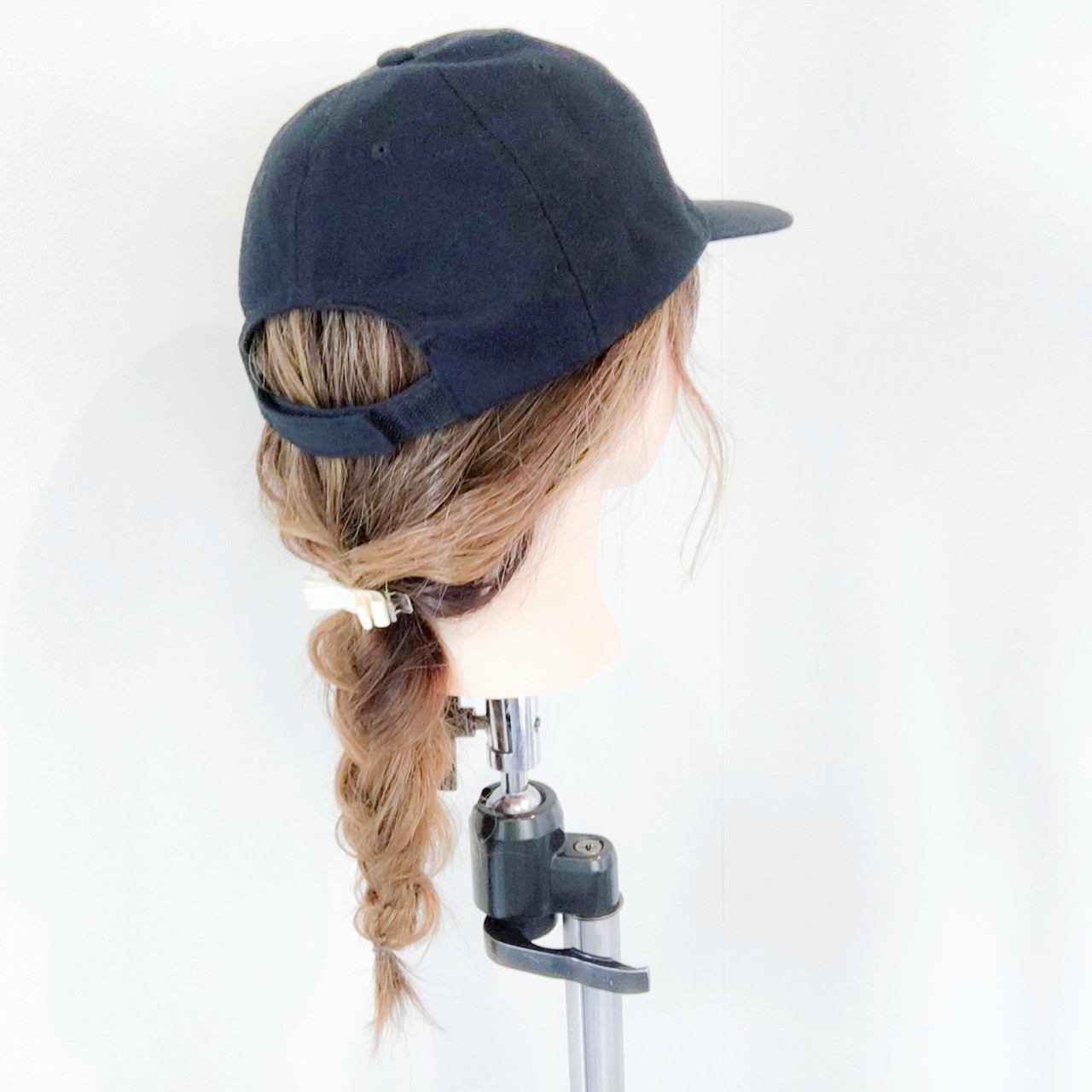 ヘアアレンジ アウトドア セミロング フェミニン ヘアスタイルや髪型の写真・画像