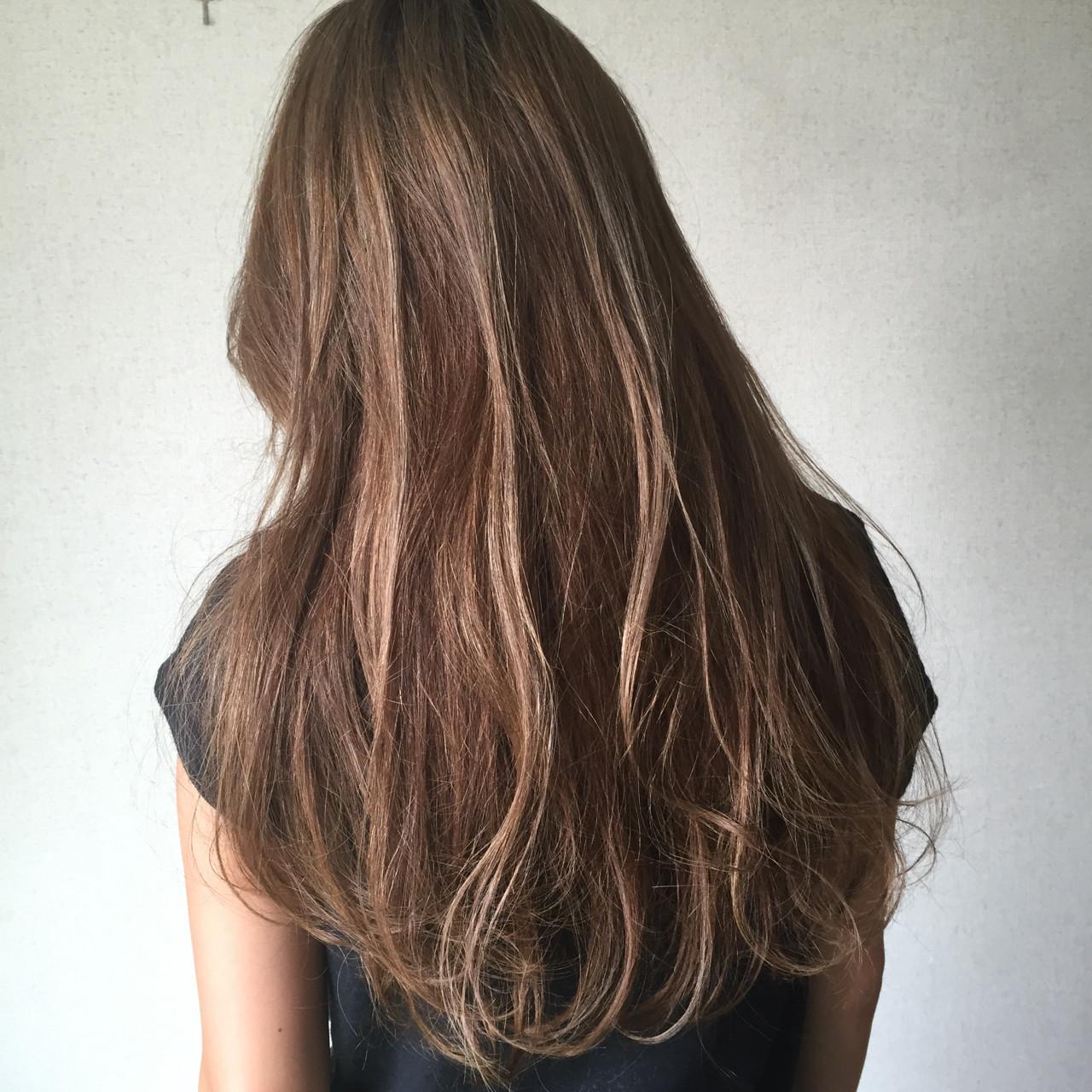 グラデーションカラー ナチュラル 外国人風 大人かわいい ヘアスタイルや髪型の写真・画像   YSO / 電髪倶楽部street