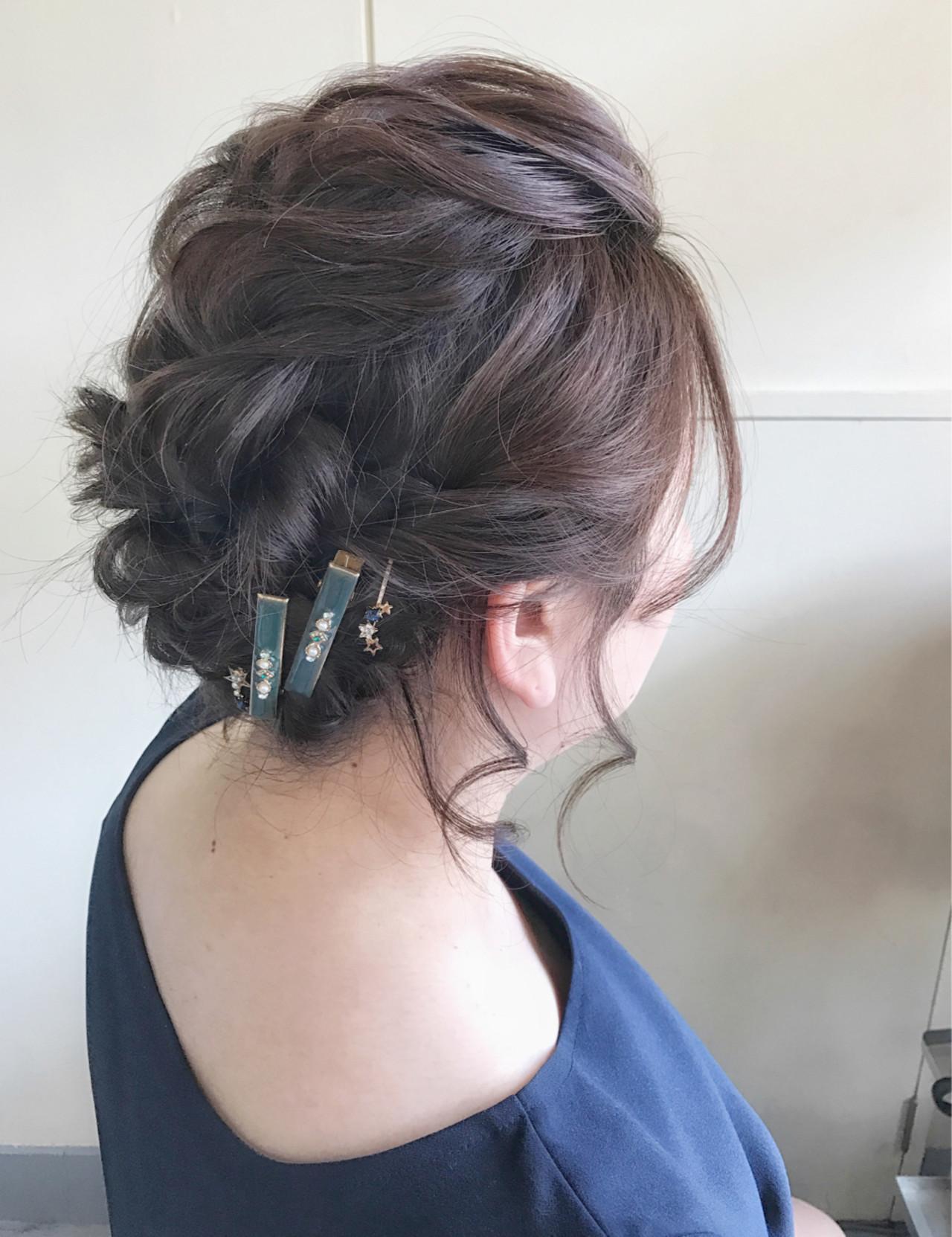エレガント 着物 結婚式 上品 ヘアスタイルや髪型の写真・画像