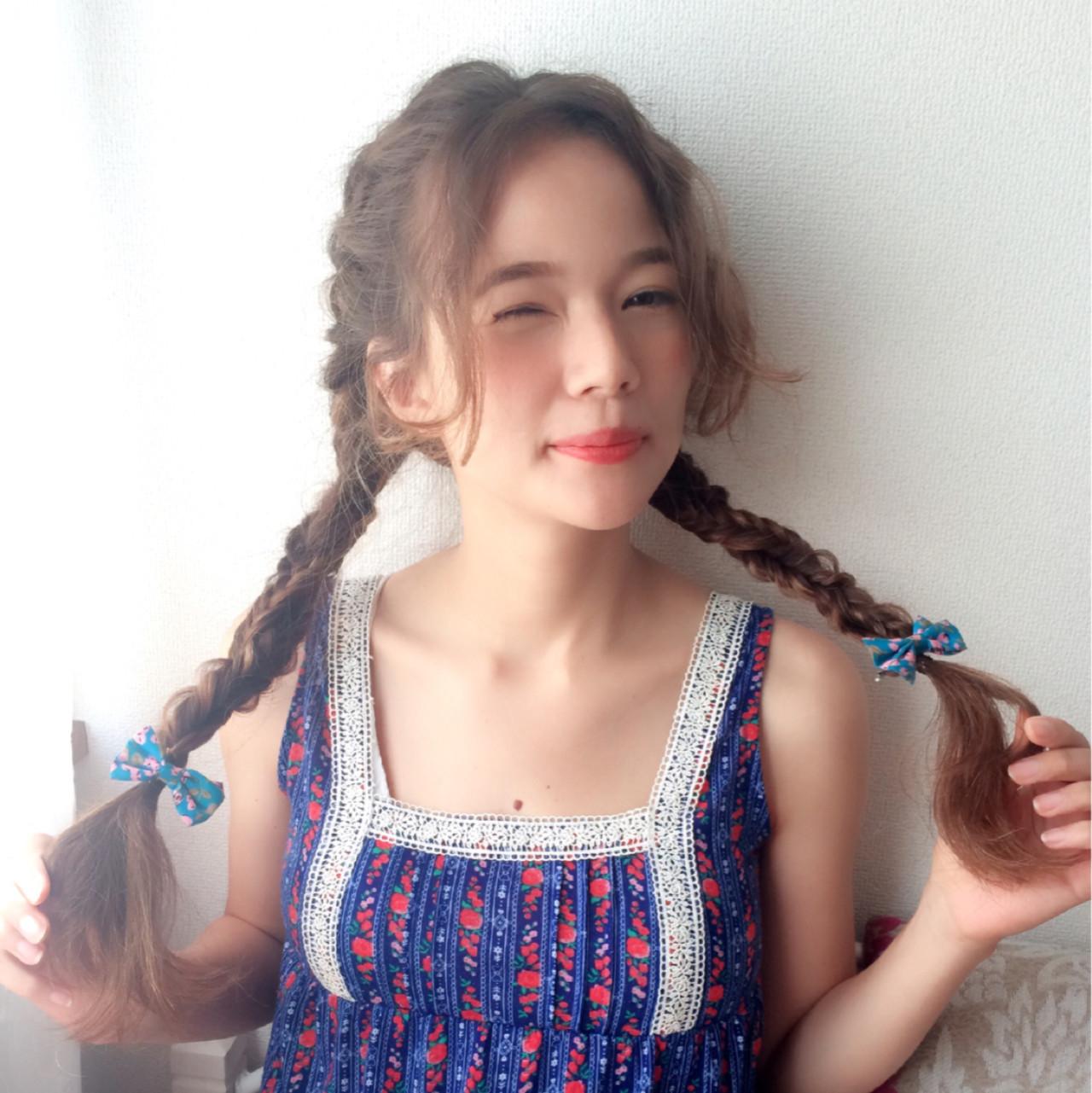 簡単ヘアアレンジ ピュア ショート 外国人風 ヘアスタイルや髪型の写真・画像