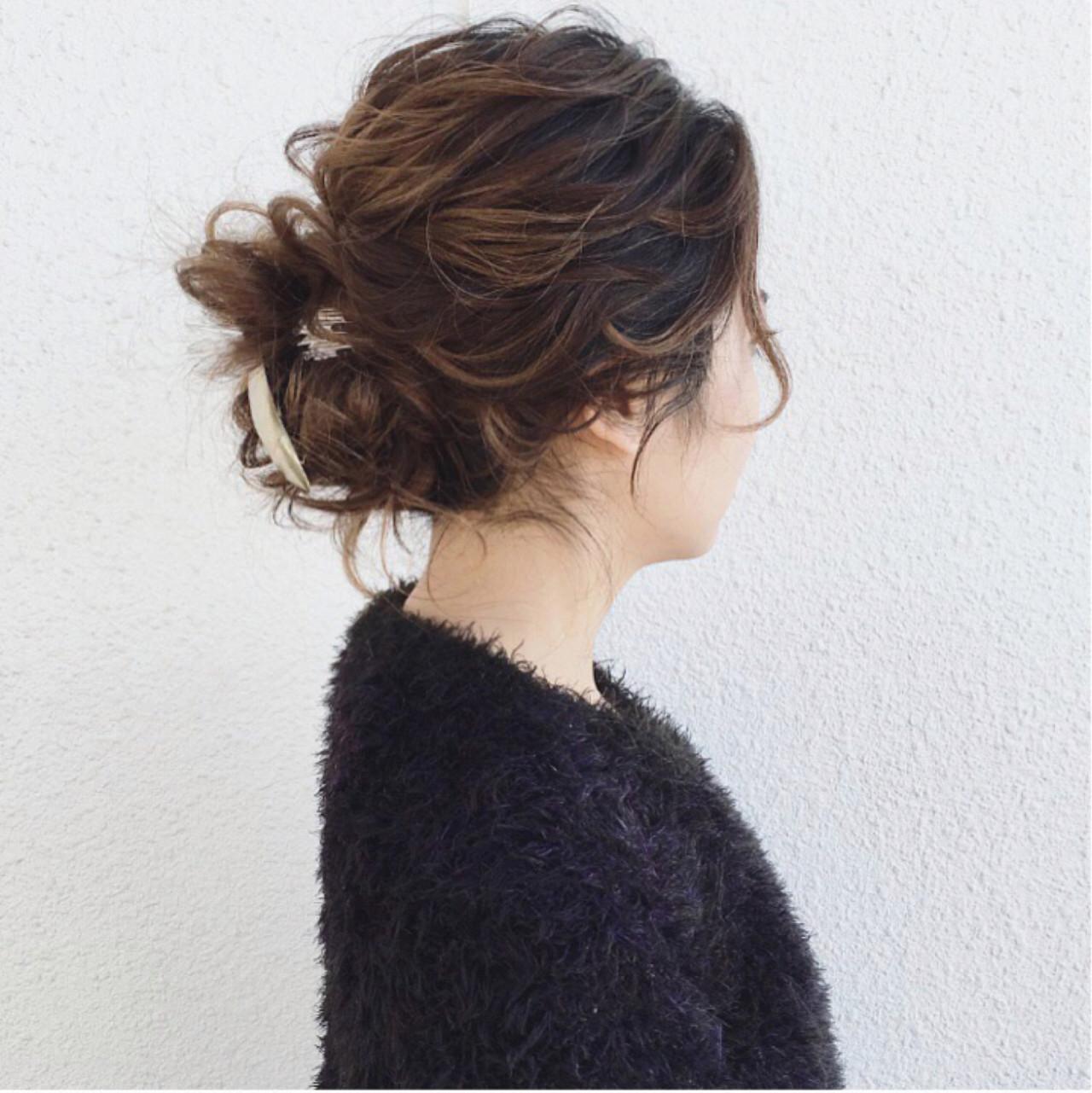 ナチュラル ガーリー 大人かわいい ミディアム ヘアスタイルや髪型の写真・画像