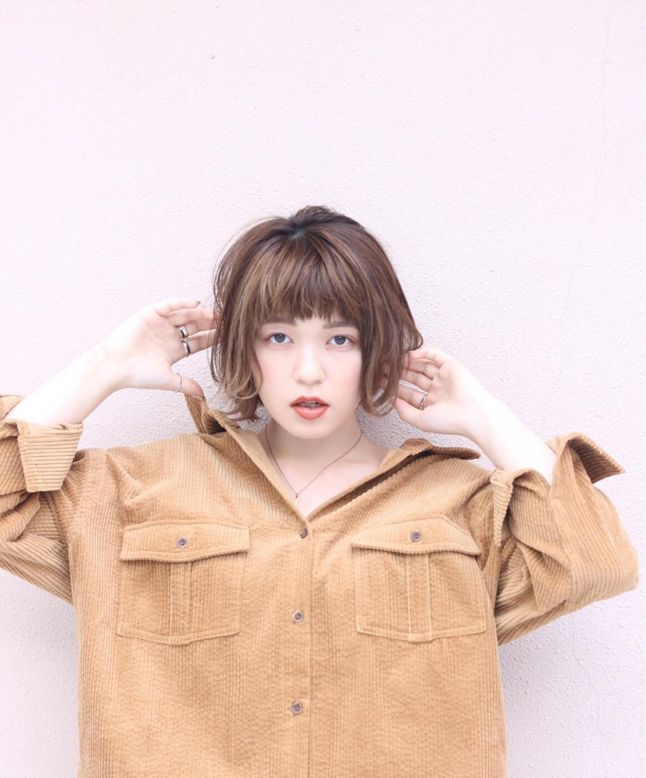 ナチュラル ハイライト 女子力 ショート ヘアスタイルや髪型の写真・画像   あくつ ゆり。 /