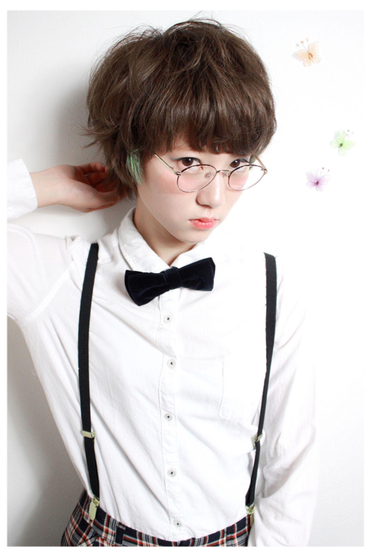 ショート ストリート マッシュ Mio 南澤 晃 85933 Hair
