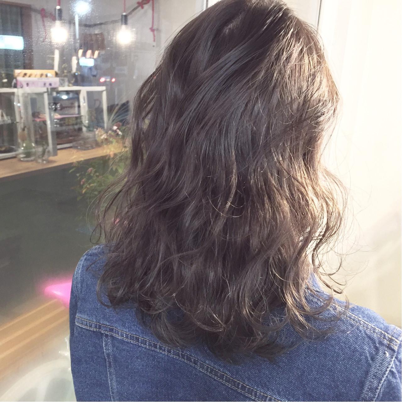大人かわいい ストリート グラデーションカラー 暗髪 ヘアスタイルや髪型の写真・画像 | 原木翔太 / lufun hair design  ルファン