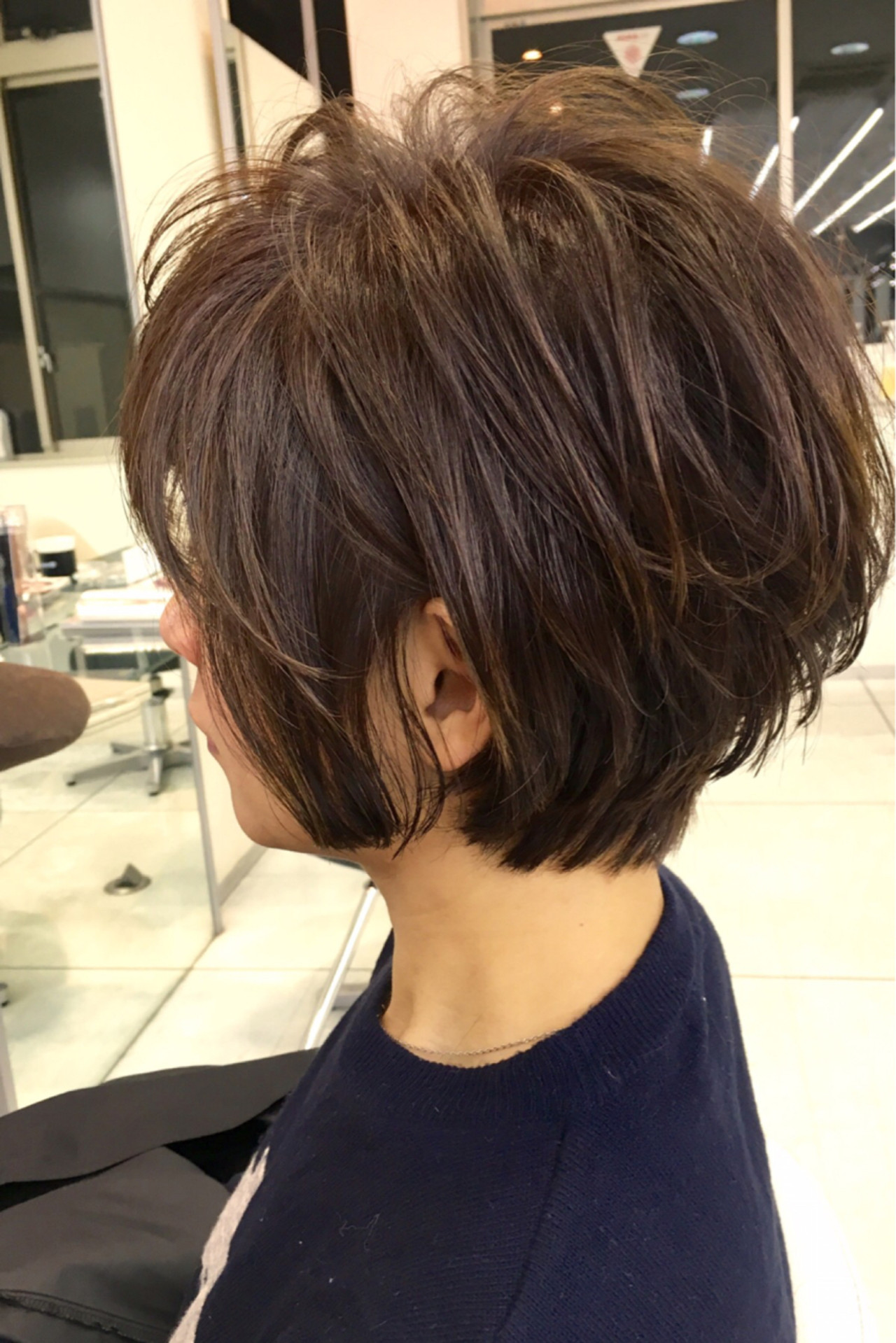 アッシュ 大人女子 色気 ゆるふわ ヘアスタイルや髪型の写真・画像