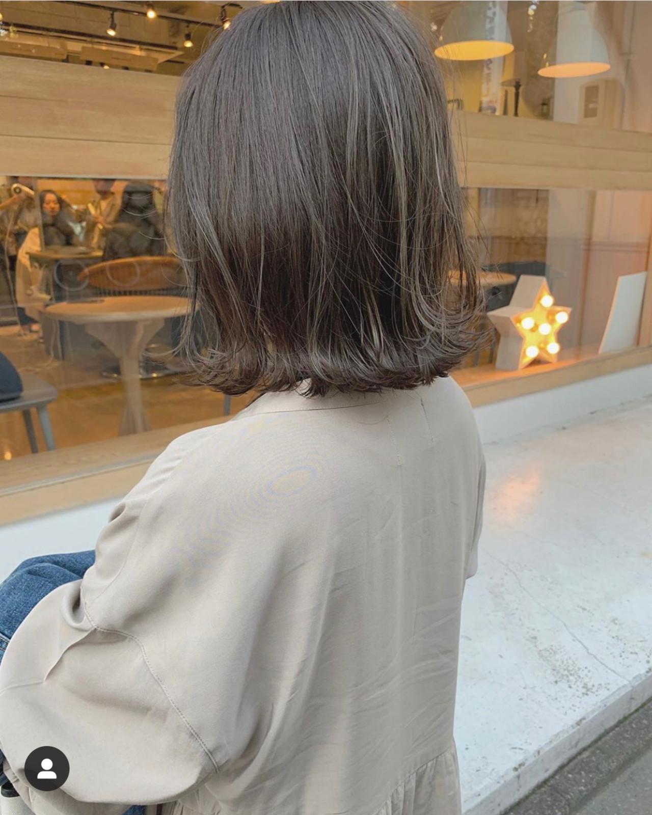 ナチュラル 切りっぱなしボブ ショートボブ ミニボブ ヘアスタイルや髪型の写真・画像 | KENTO.NOESALON / NOE SALON