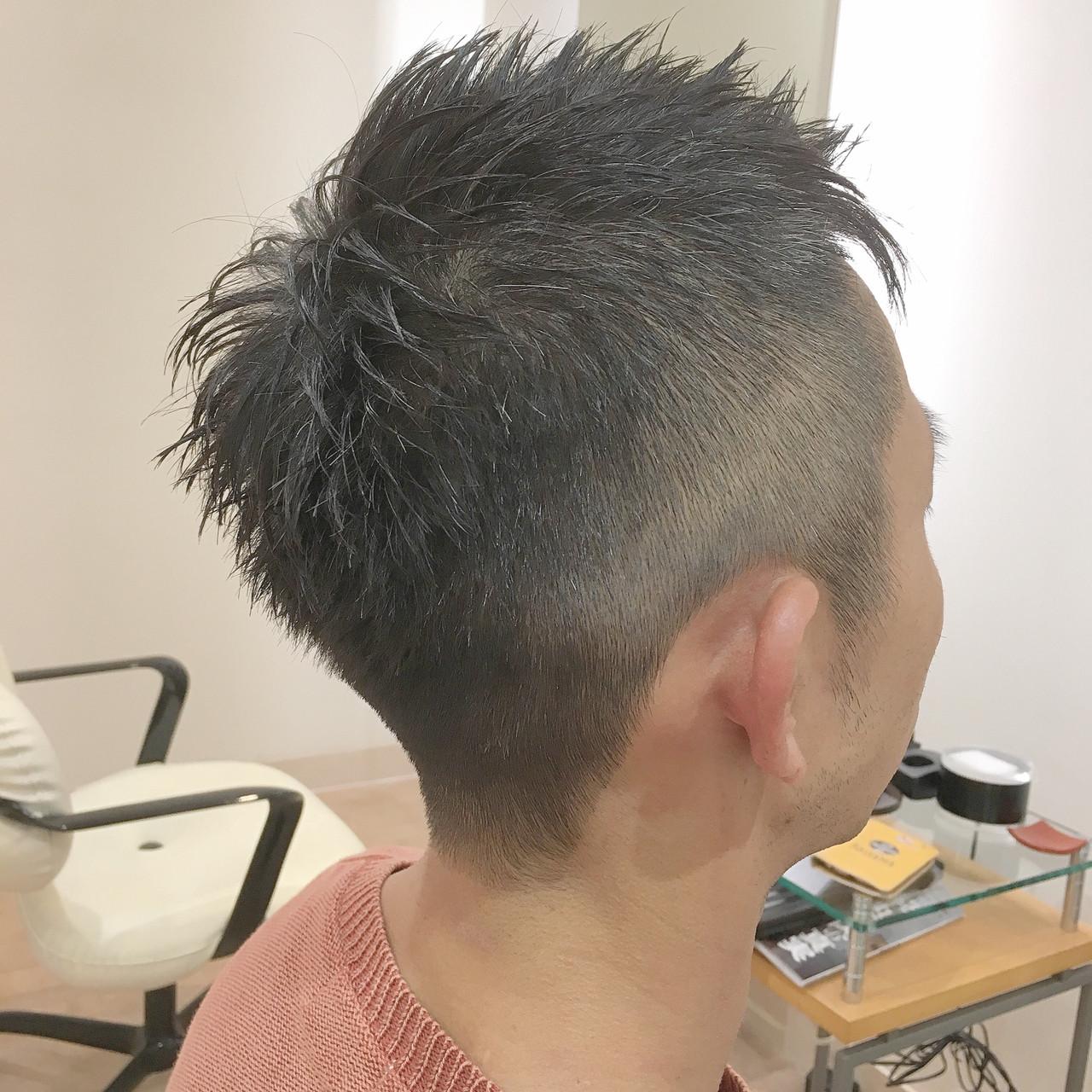 刈り上げ メンズ ツーブロック ストリート ヘアスタイルや髪型の写真・画像