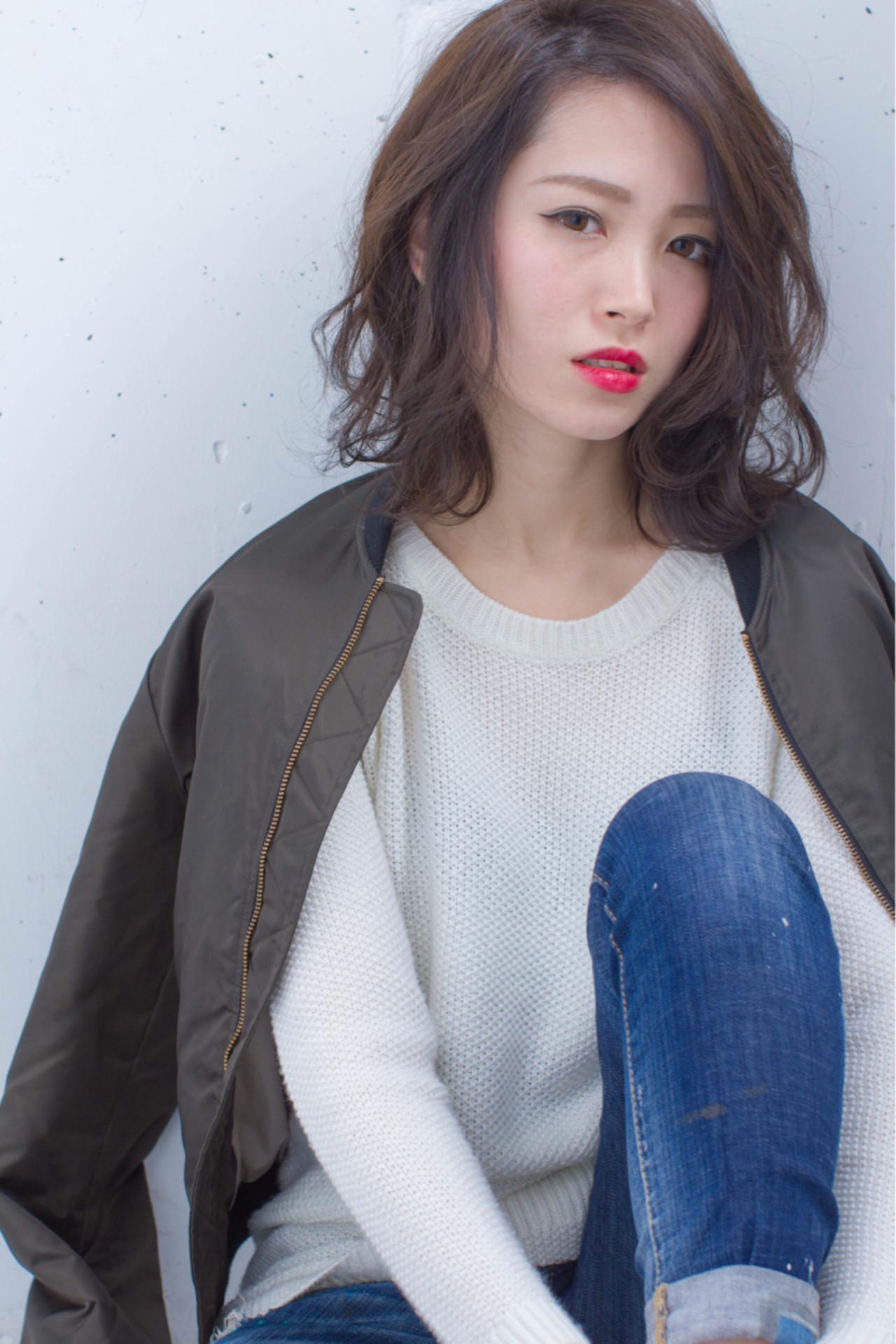ボブ 外国人風 暗髪 ストリート ヘアスタイルや髪型の写真・画像 | 長谷川 聖太 / sowi hair design  (ソーイ)
