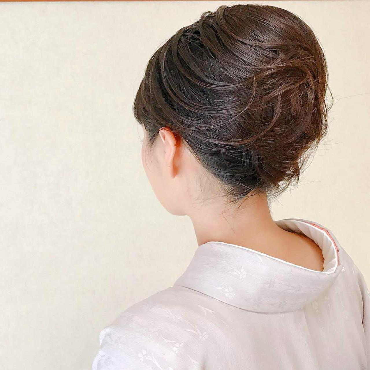 結婚式 結婚式ヘアアレンジ 和装ヘア ボブ ヘアスタイルや髪型の写真・画像   Moriyama Mami / 福岡天神ヘアセット・着付け専門店【Three-keys】