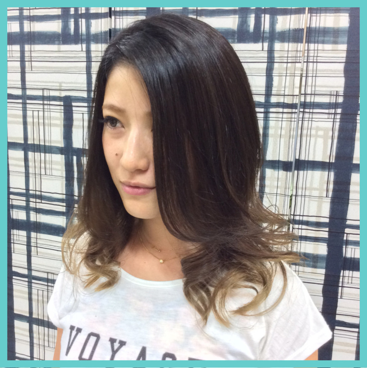 ガーリー 外国人風 グラデーションカラー アッシュ ヘアスタイルや髪型の写真・画像 | 角田 方史 / hair & esthe Revie