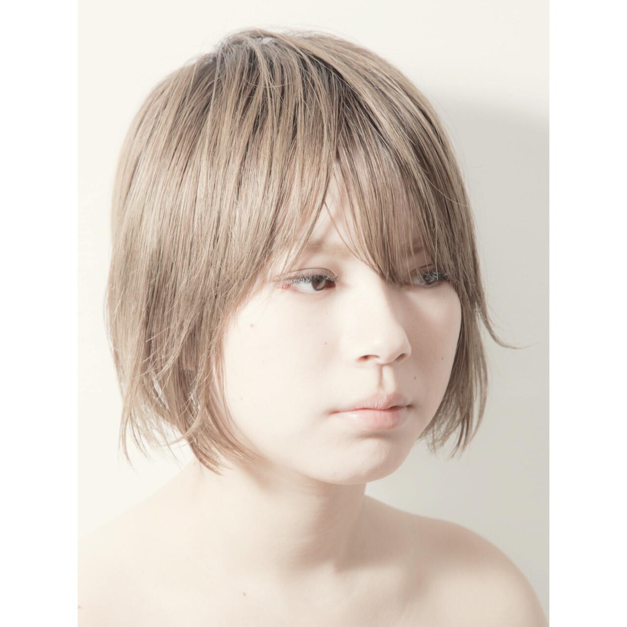 ボブ 切りっぱなしボブ 前下がりボブ ミニボブ ヘアスタイルや髪型の写真・画像 | 佐々木 賢一 / morio from london 大宮店