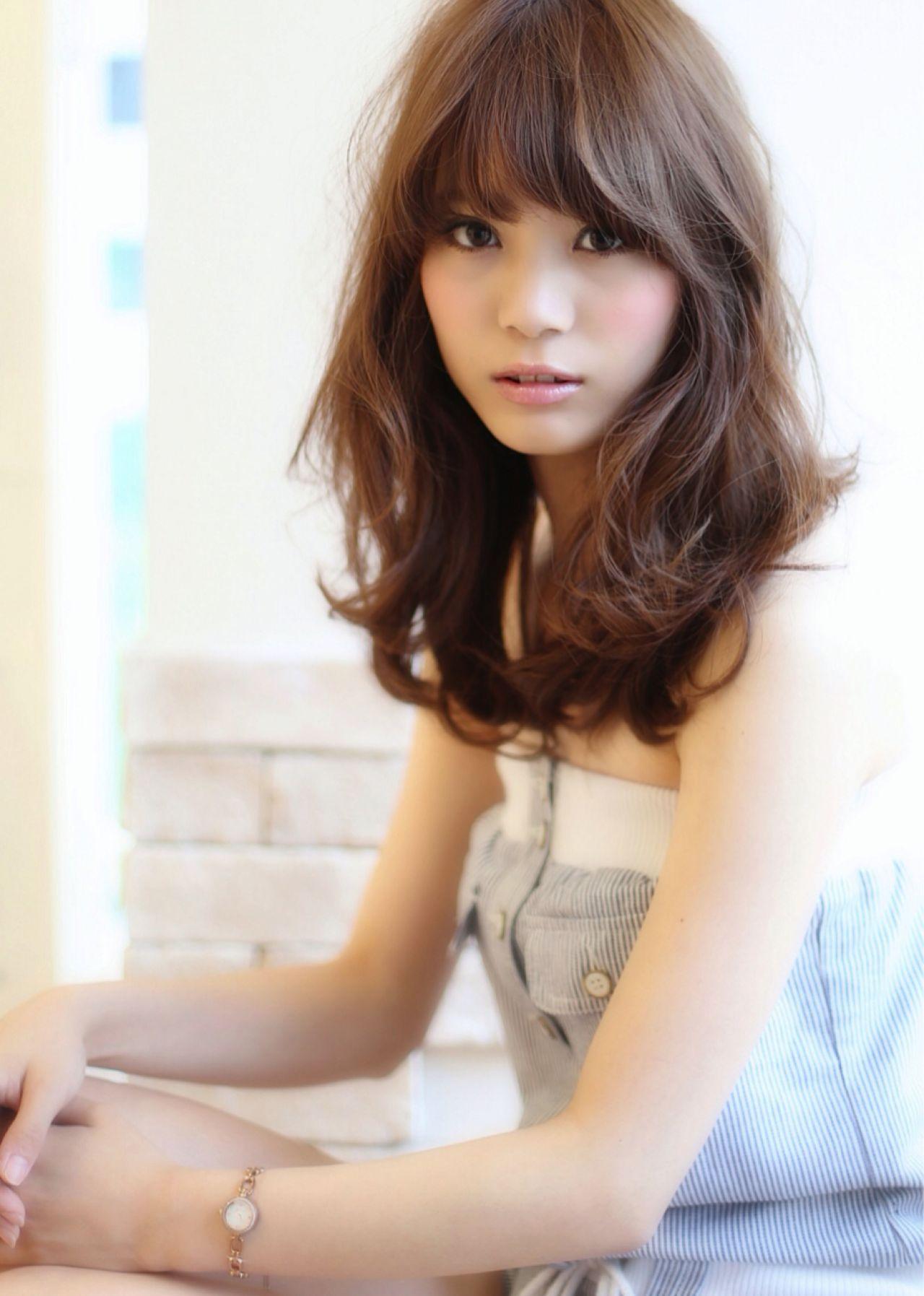 ナチュラル ストリート セミロング ヘアスタイルや髪型の写真・画像 | 菅谷 遼将 / LOREN