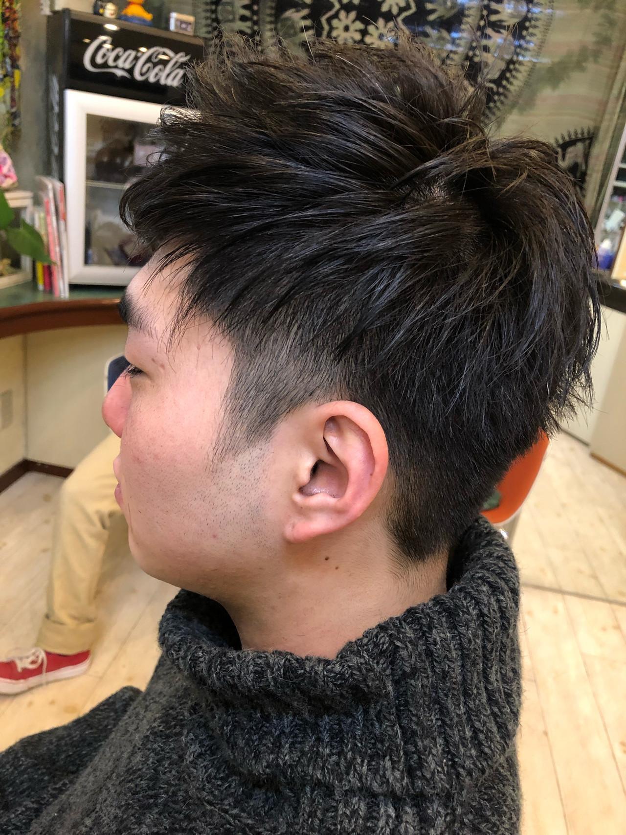 メンズ フェミニン メンズカジュアル 成人式 ヘアスタイルや髪型の写真・画像