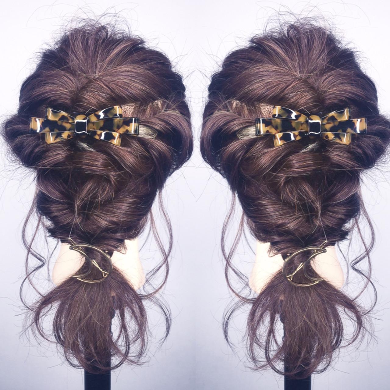 ナチュラル ロング ショート 結婚式 ヘアスタイルや髪型の写真・画像