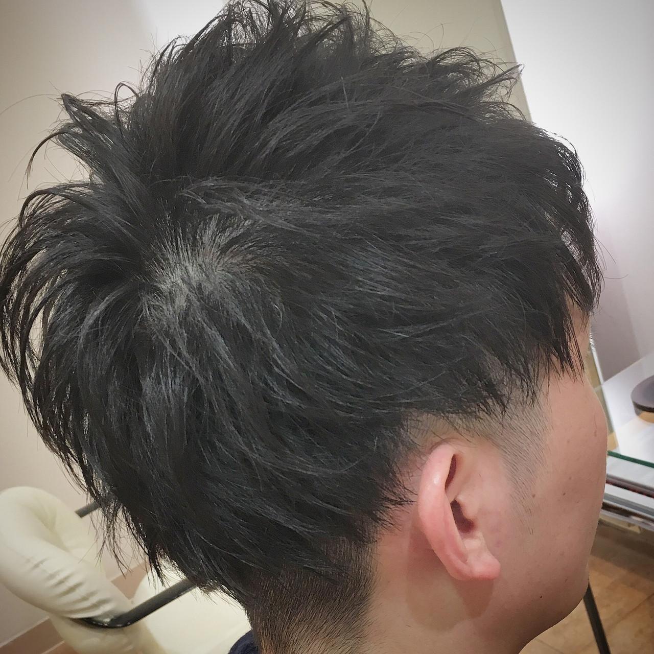 ショートマッシュ マッシュ ストリート メンズ ヘアスタイルや髪型の写真・画像 | 平本 詠一 / fabris