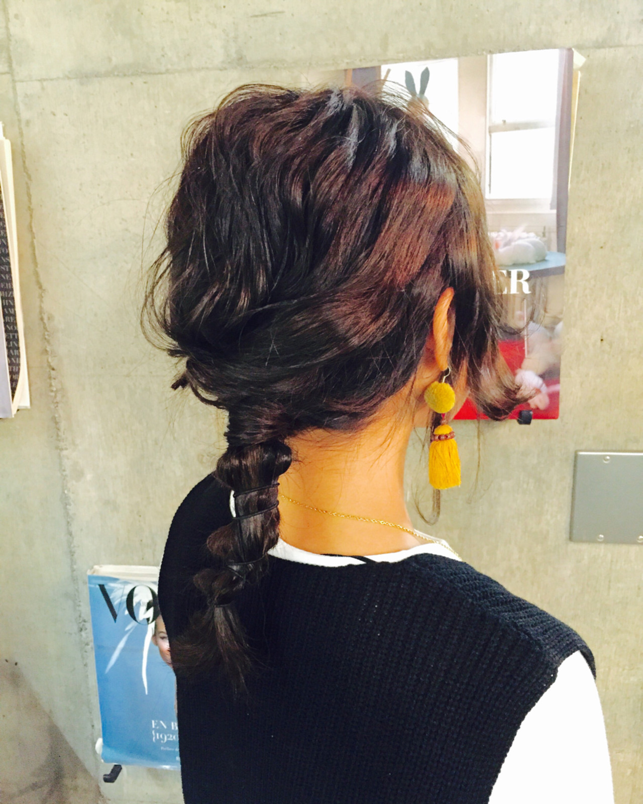 ショート ゆるふわ フェミニン 簡単ヘアアレンジ ヘアスタイルや髪型の写真・画像 | 坂本 豊 / VISION