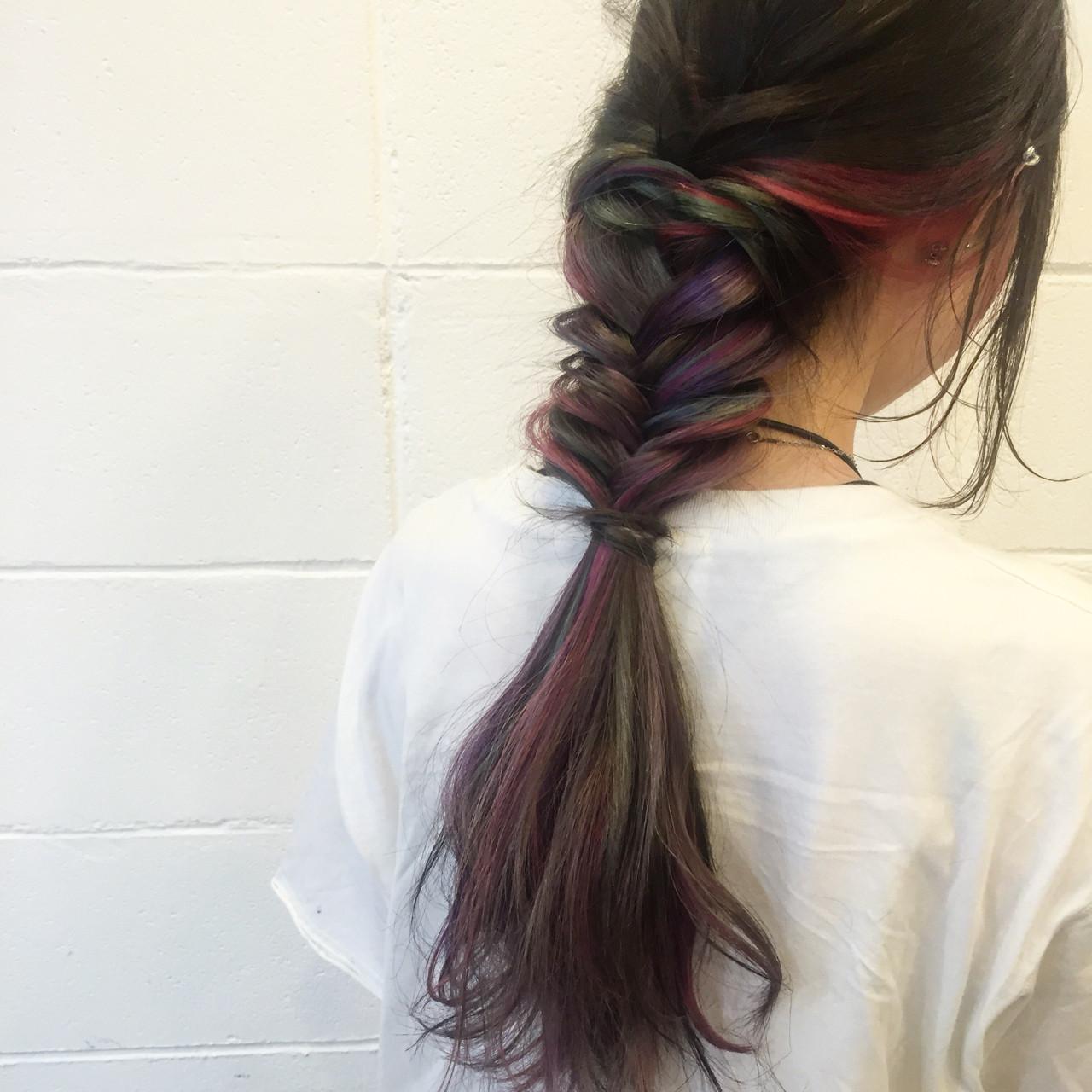 簡単ヘアアレンジ 外国人風 ストリート 夏 ヘアスタイルや髪型の写真・画像 | カミムラ ケンスケ / SPEC