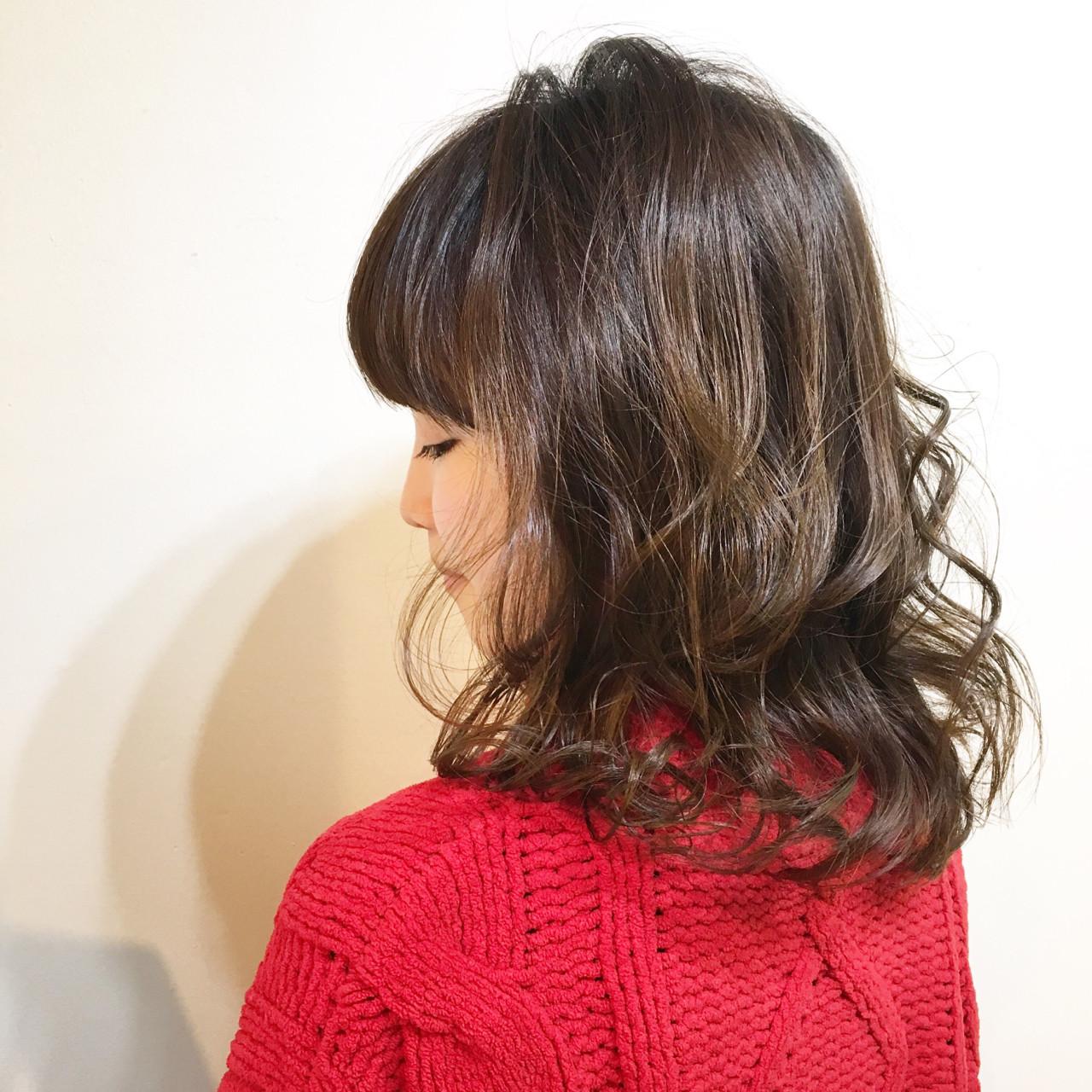 フリンジバング 色気 ボブ 大人女子 ヘアスタイルや髪型の写真・画像 | COM PASS タイチ / COM PASS