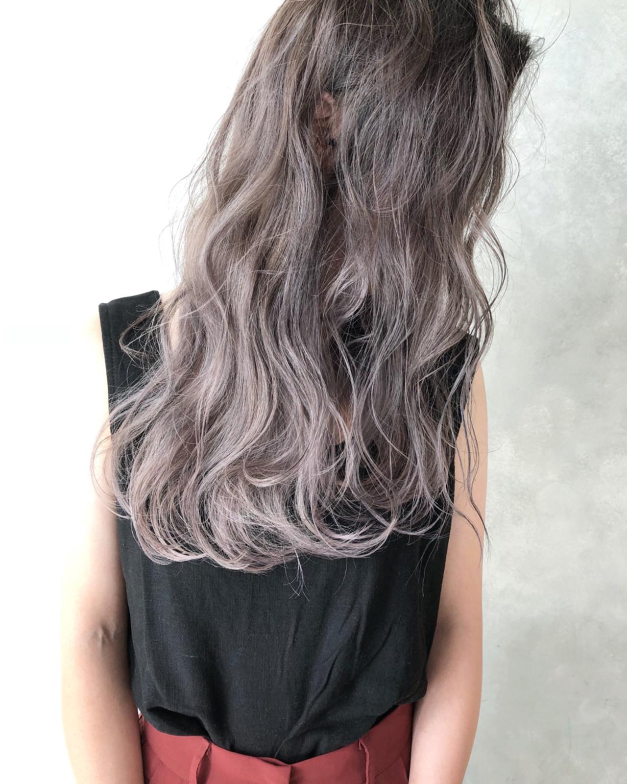 外国人風カラー ハイライト ストリート ヘアアレンジ ヘアスタイルや髪型の写真・画像 | ALT 森田 正浩 / ALT
