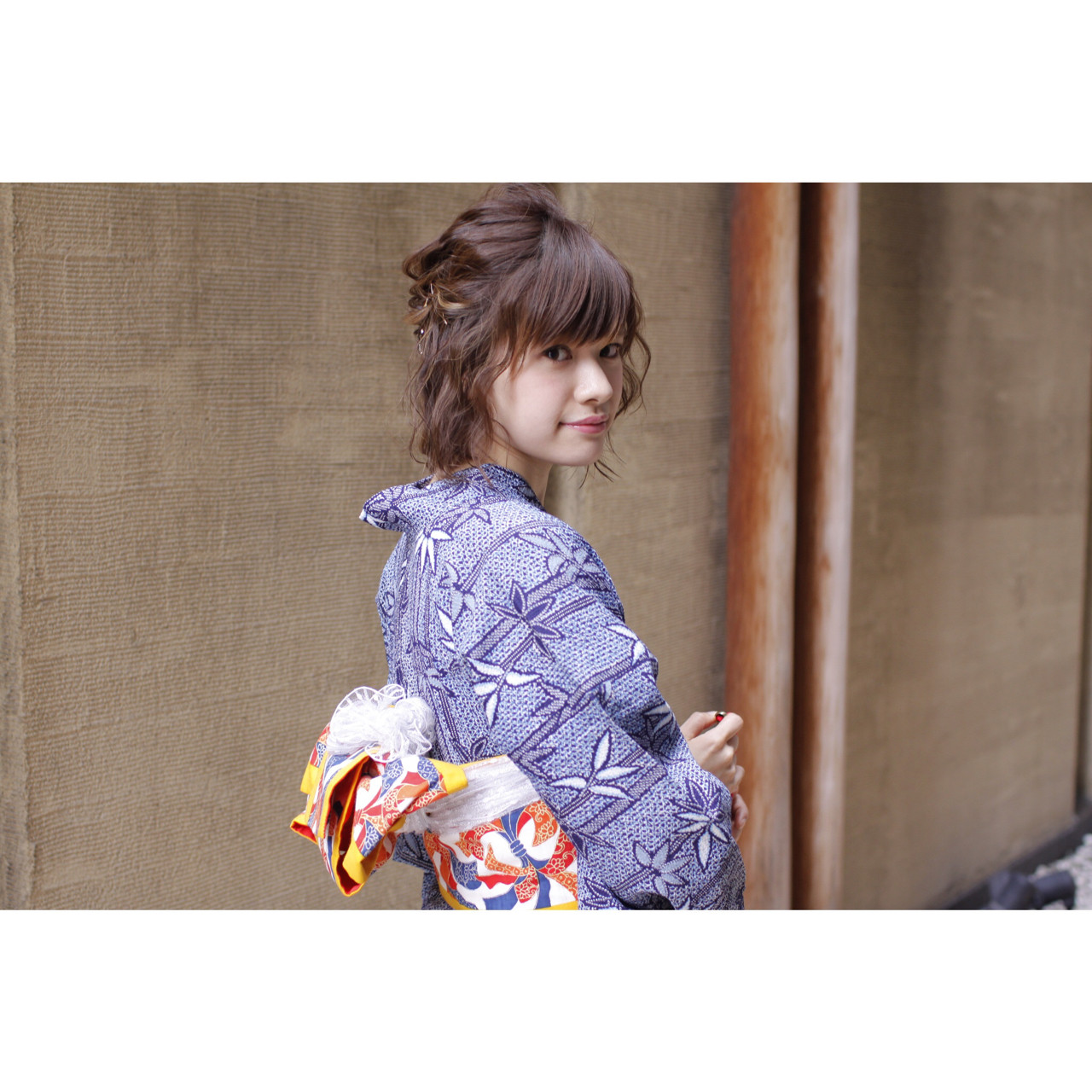 花火大会 ピュア 夏 透明感 ヘアスタイルや髪型の写真・画像