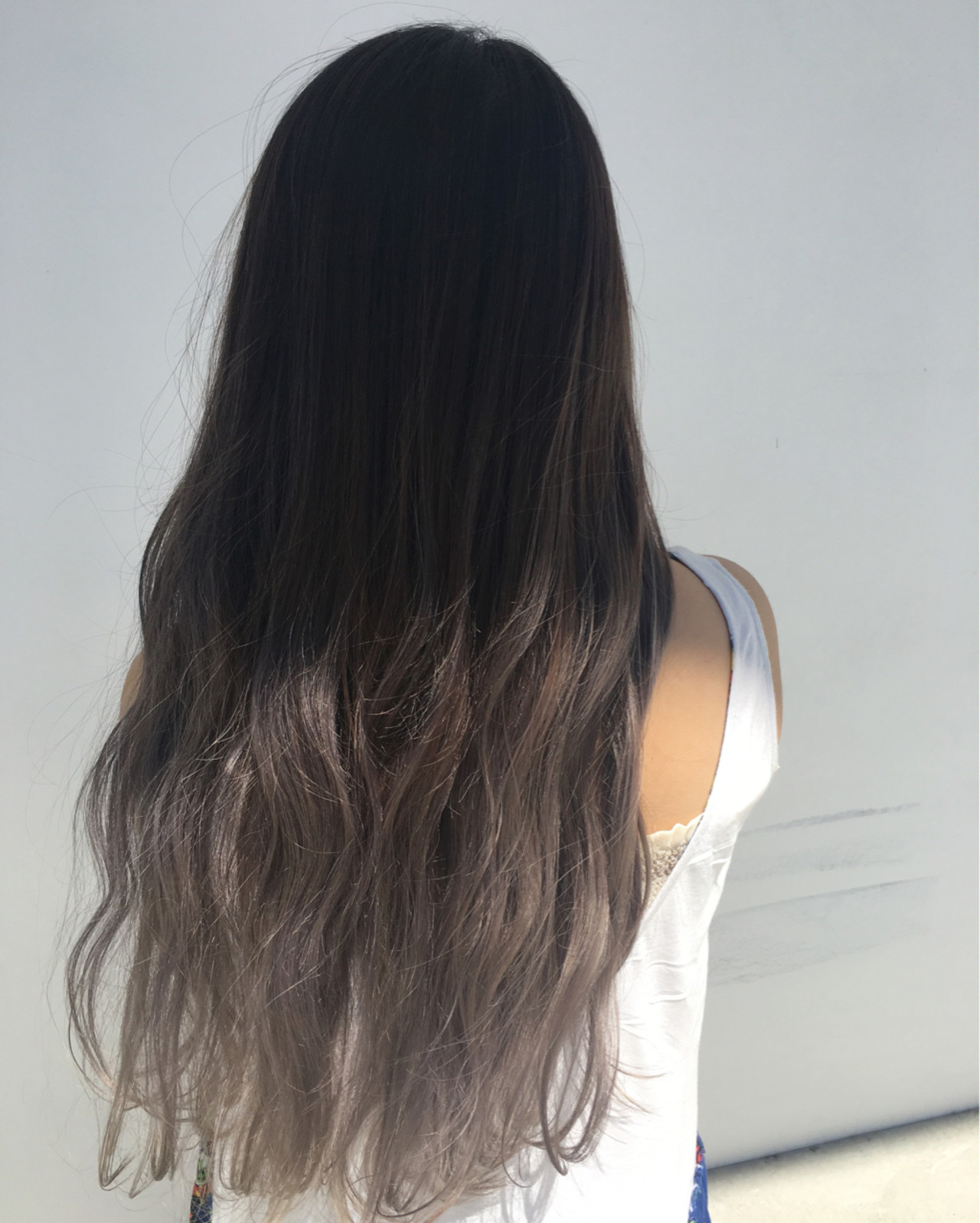 外国人風 グラデーションカラー ストリート 冬 ヘアスタイルや髪型の写真・画像 | KEYMAN NOMURA / KEYMAN hair&eye