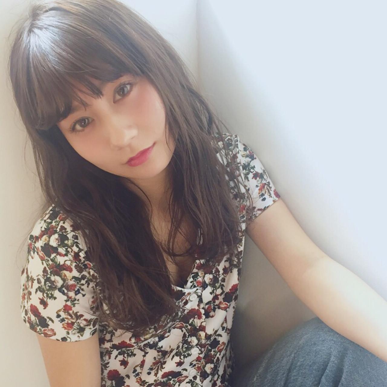 セミロング 簡単 パーマ 大人かわいい ヘアスタイルや髪型の写真・画像   吉岡 久美子 / Ravo HAIR / Ravo HAIR