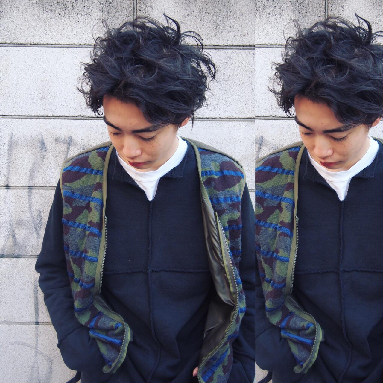モテ髪 メンズ ショート 無造作 ヘアスタイルや髪型の写真・画像 | UEKI/nanuk / nanuk二子玉川