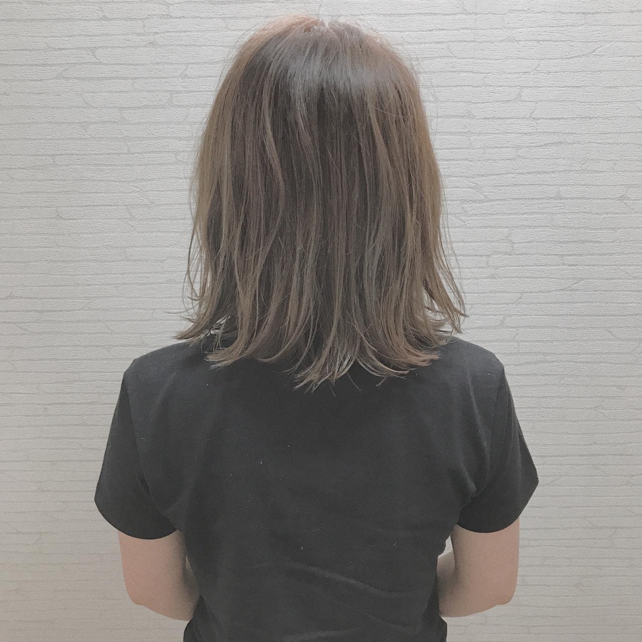 ヘアアレンジ 外国人風 ナチュラル 切りっぱなし ヘアスタイルや髪型の写真・画像 | ZONO(西園 圭祐) / 2nd