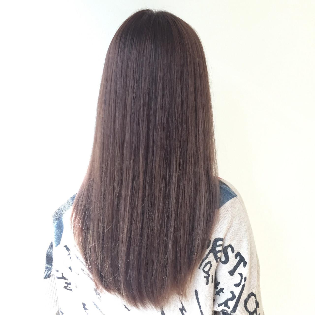 ハイライト ナチュラル ロング 外国人風カラー ヘアスタイルや髪型の写真・画像 | seikan / vifkrone hair&beauty