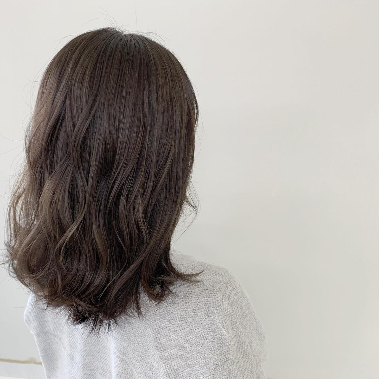 ヘアアレンジ ミディアム コテ巻き ナチュラル ヘアスタイルや髪型の写真・画像 | 新谷 朋宏 / Free hairstylist shinya