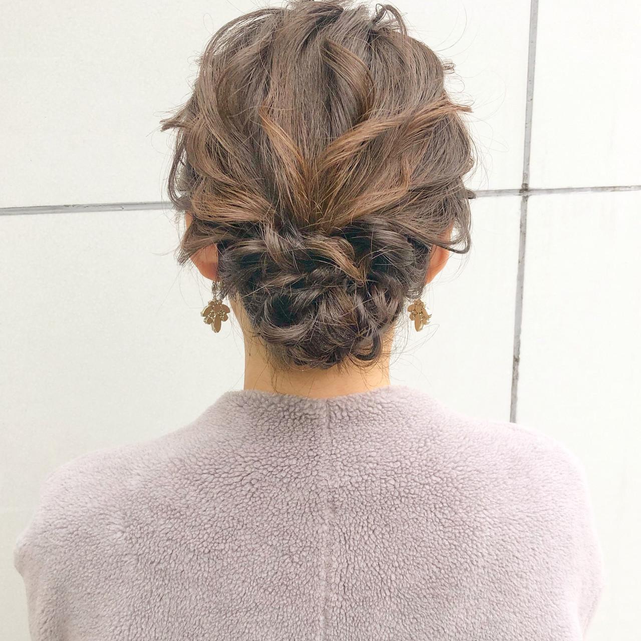 デート 結婚式 簡単ヘアアレンジ ヘアアレンジ ヘアスタイルや髪型の写真・画像 | 『ボブ美容師』永田邦彦 表参道 / send by HAIR